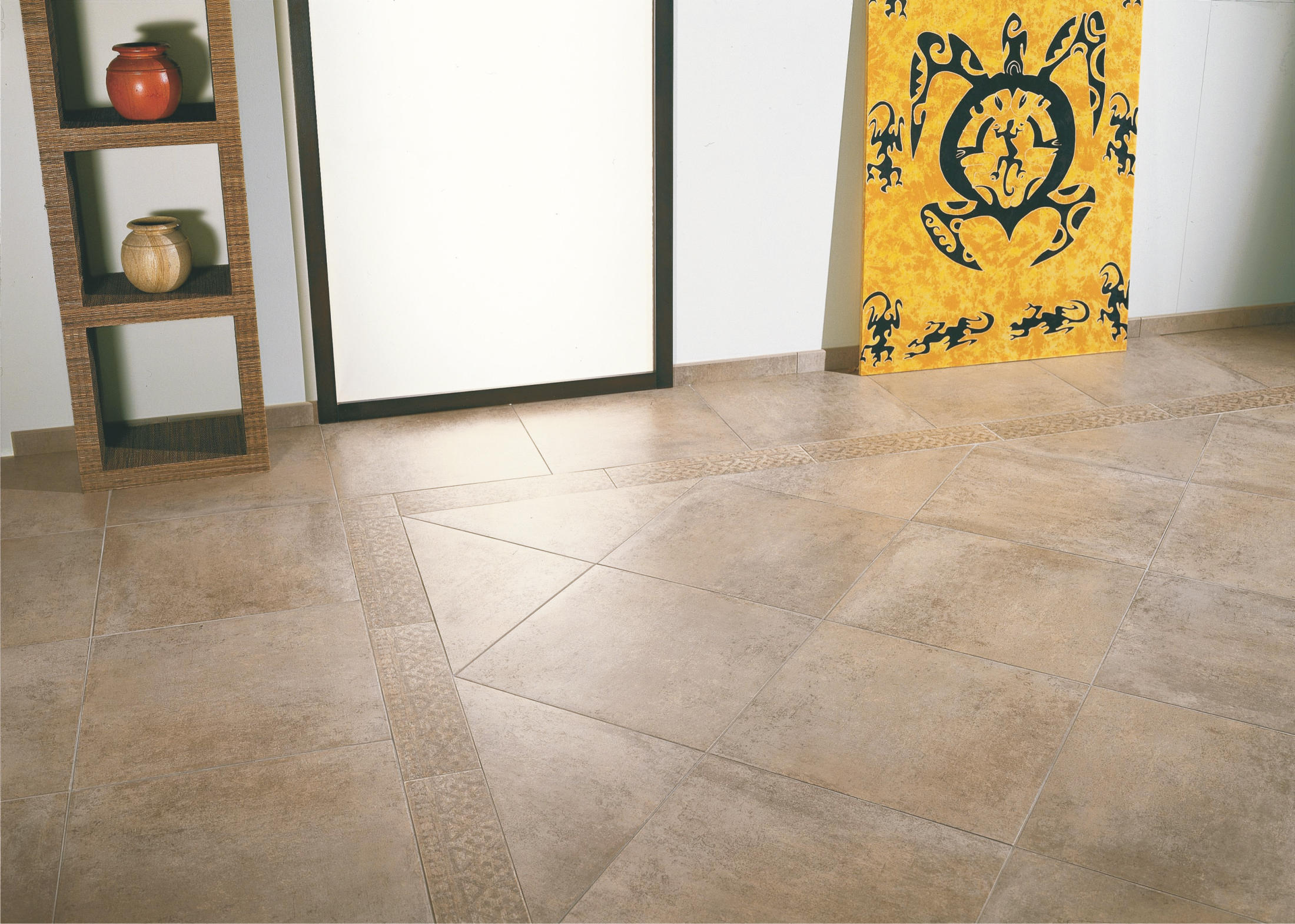 Loft bone white floor tiles from tagina architonic for Carrelage taupe