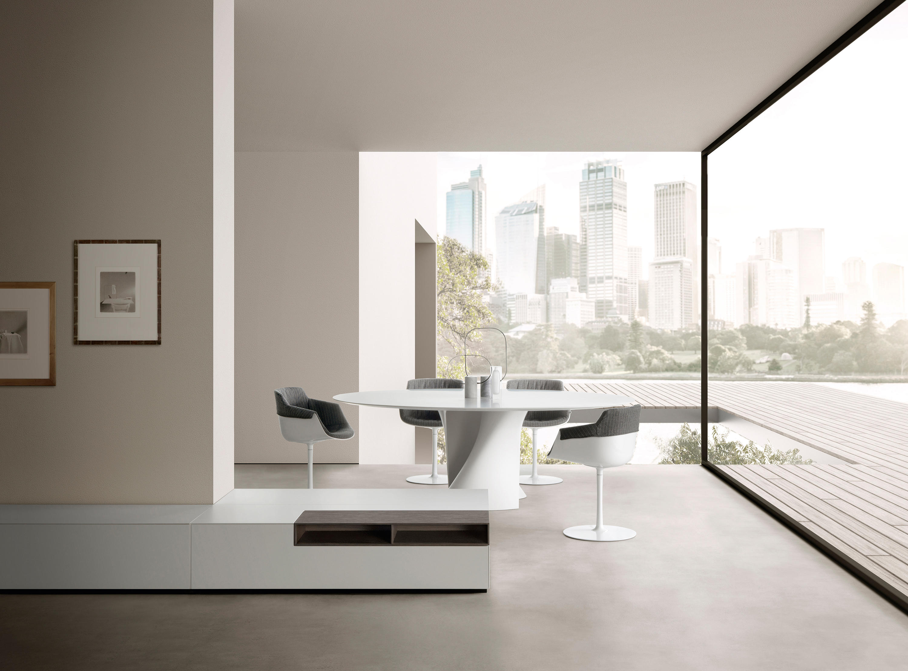 s table dining tables from mdf italia architonic. Black Bedroom Furniture Sets. Home Design Ideas