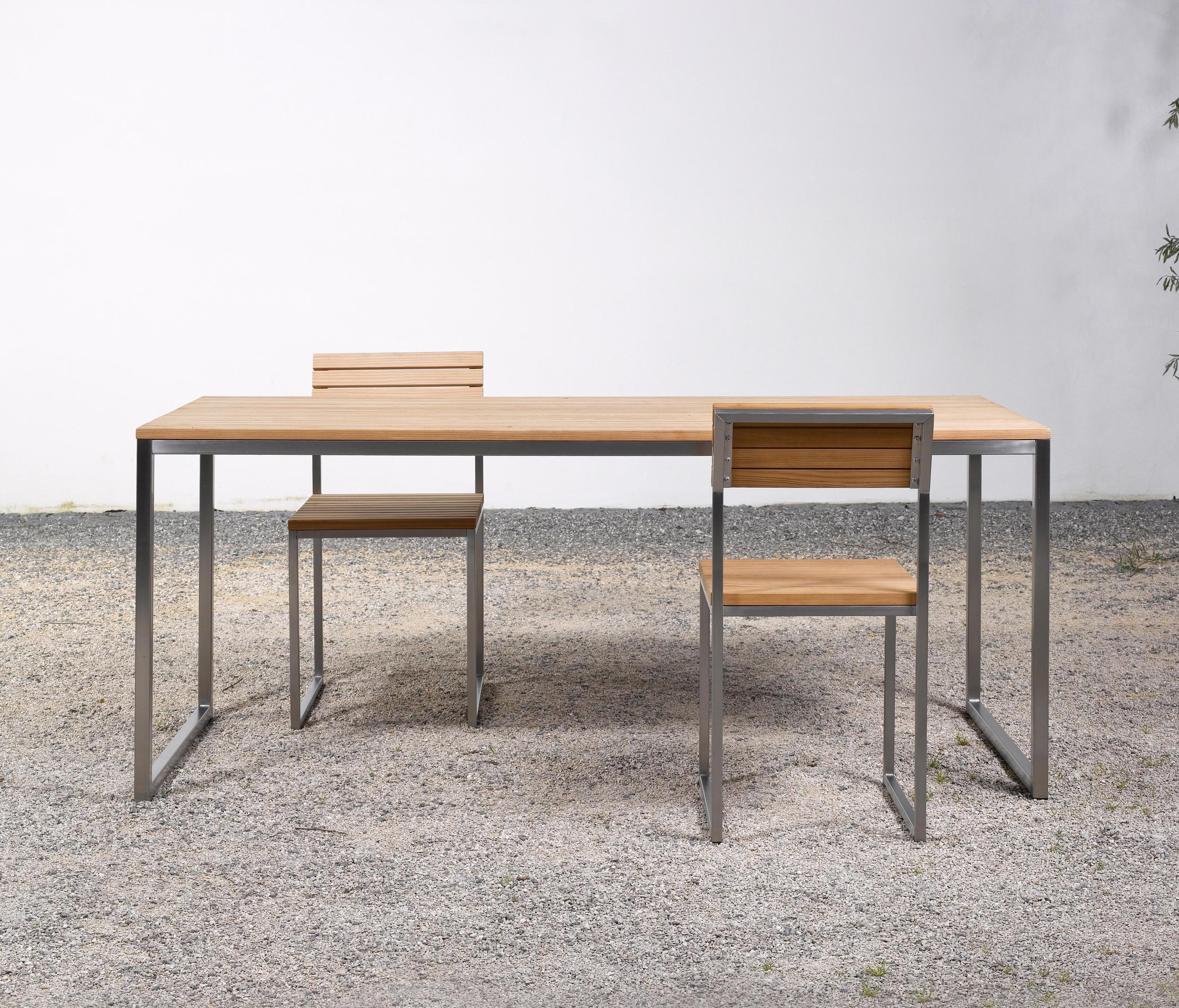tisch und bank at 06 esstische von silvio rohrmoser. Black Bedroom Furniture Sets. Home Design Ideas