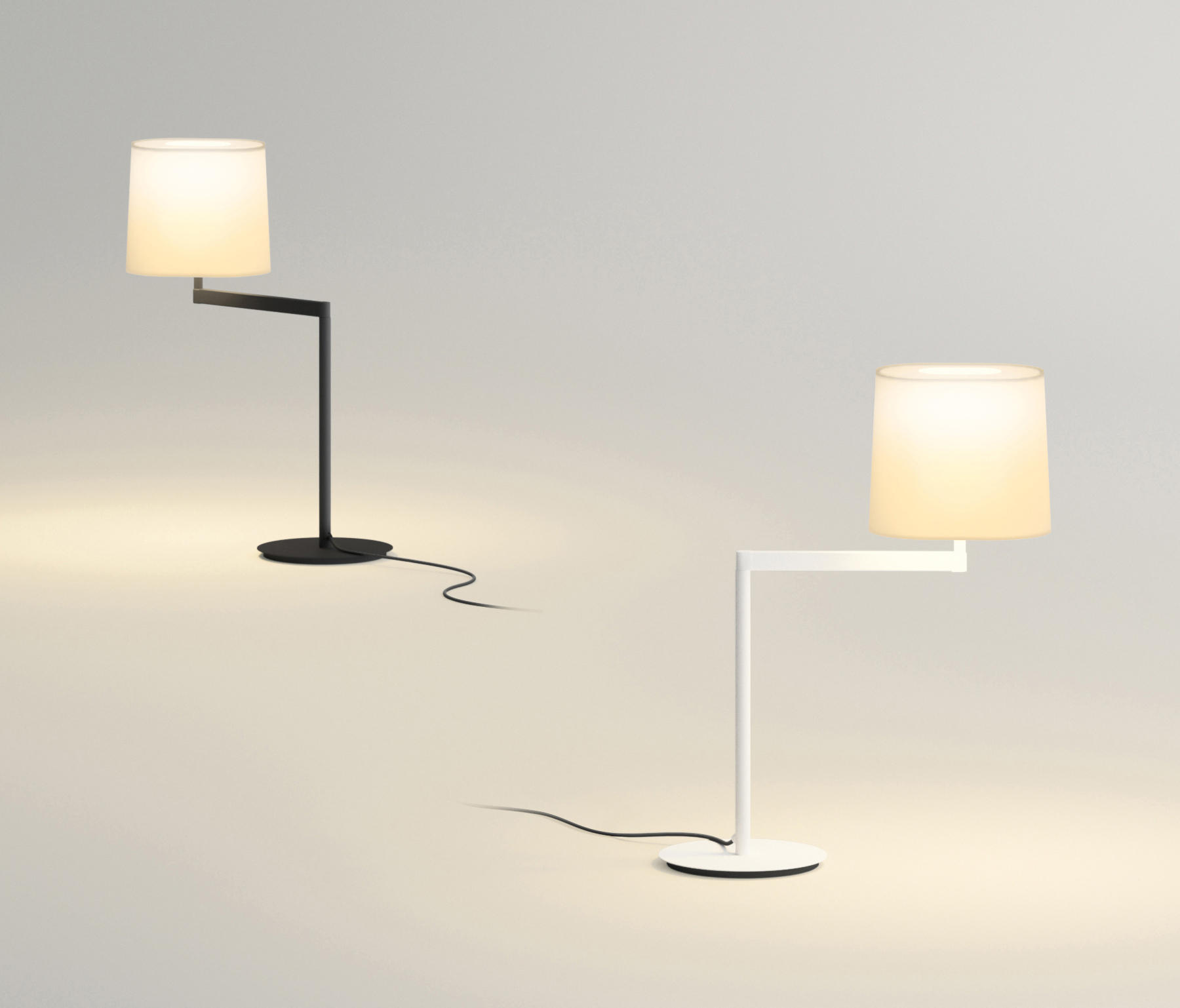 swing 0503 floor lamp general lighting from vibia architonic. Black Bedroom Furniture Sets. Home Design Ideas