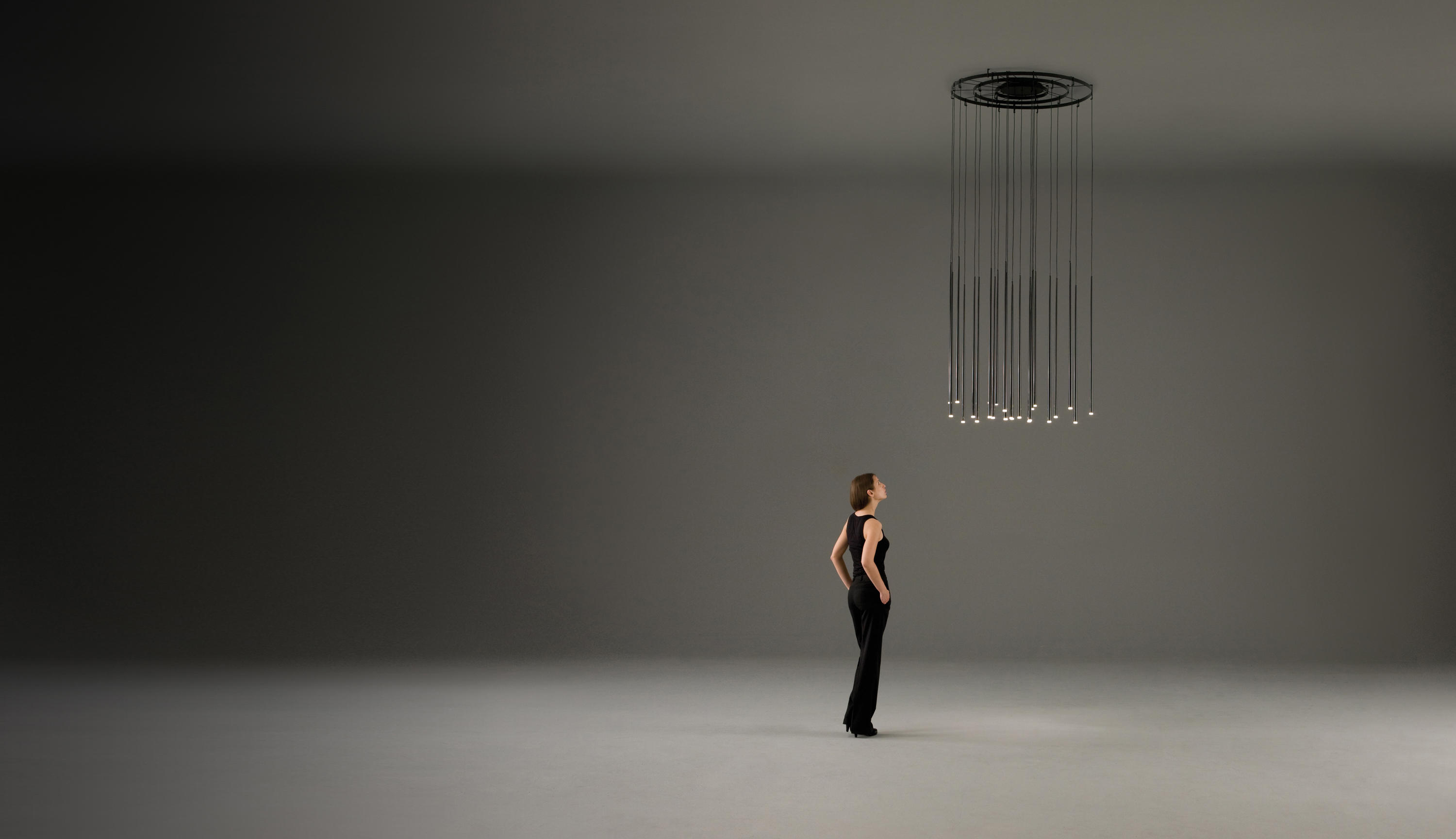 Slim 0914 Pendant Lamp Suspended Lights From Vibia
