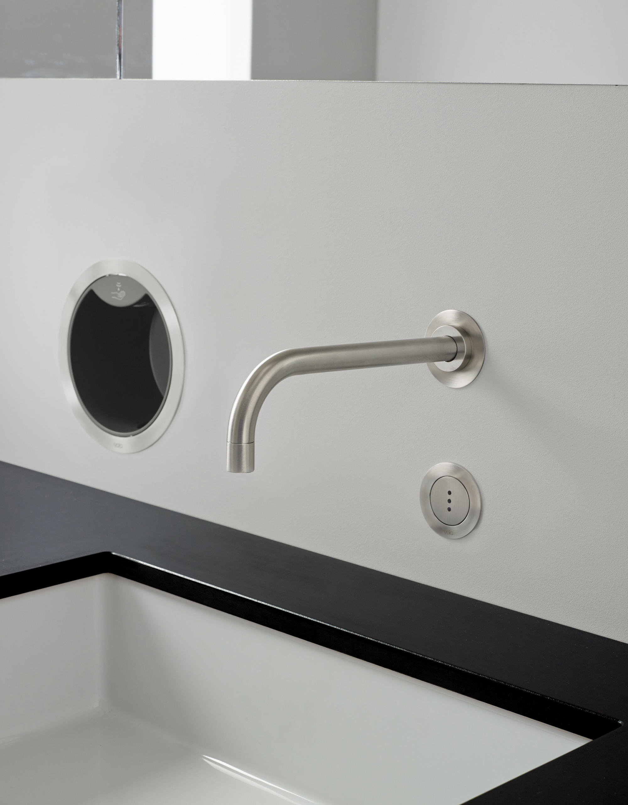 4321 BUILD IN BASIN MIXER Wash basin taps from VOLA