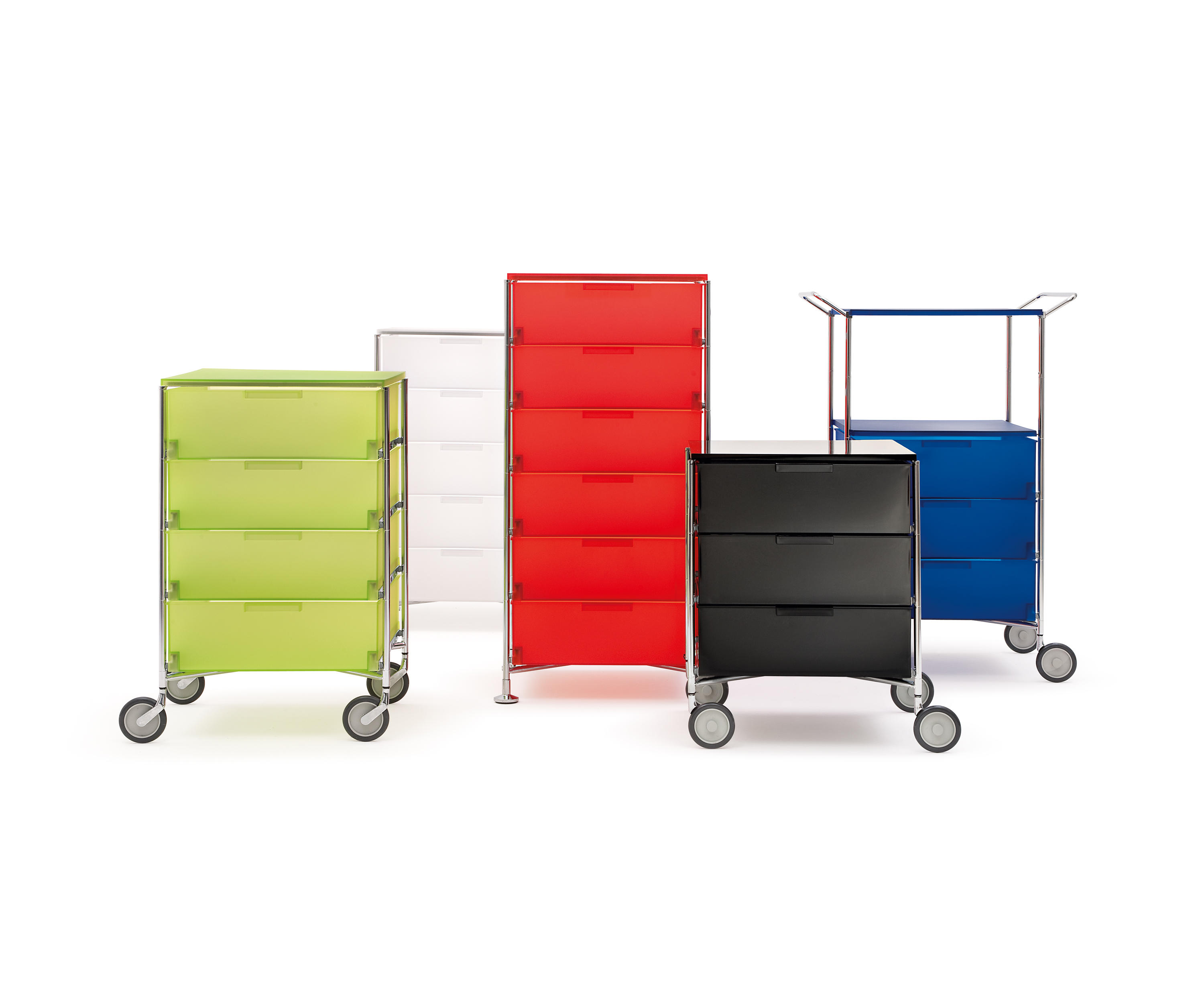 Mobil comodini kartell architonic for Kartell ufficio