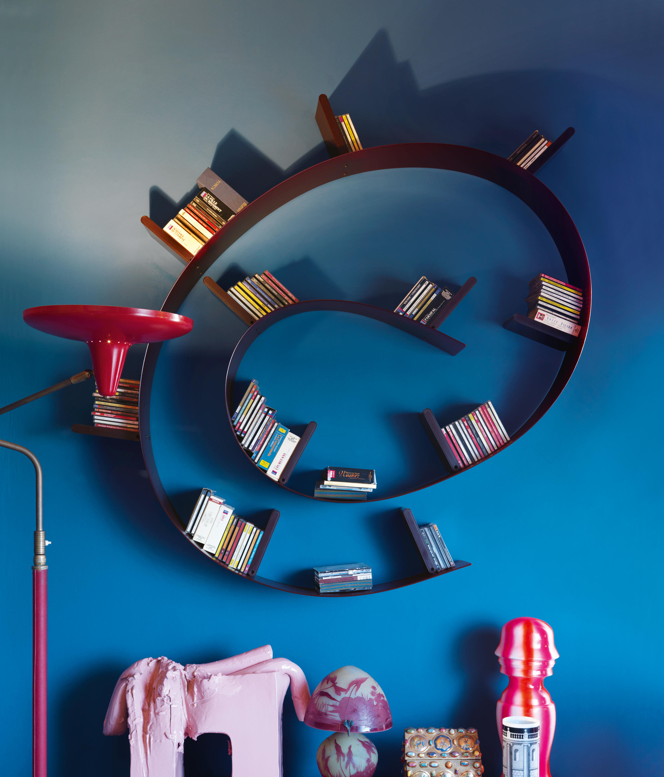 bookworm  shelving from kartell  architonic - bookworm by kartell