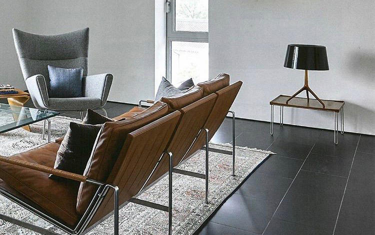 fk 6720 1 easy chair lounge chairs from lange production. Black Bedroom Furniture Sets. Home Design Ideas