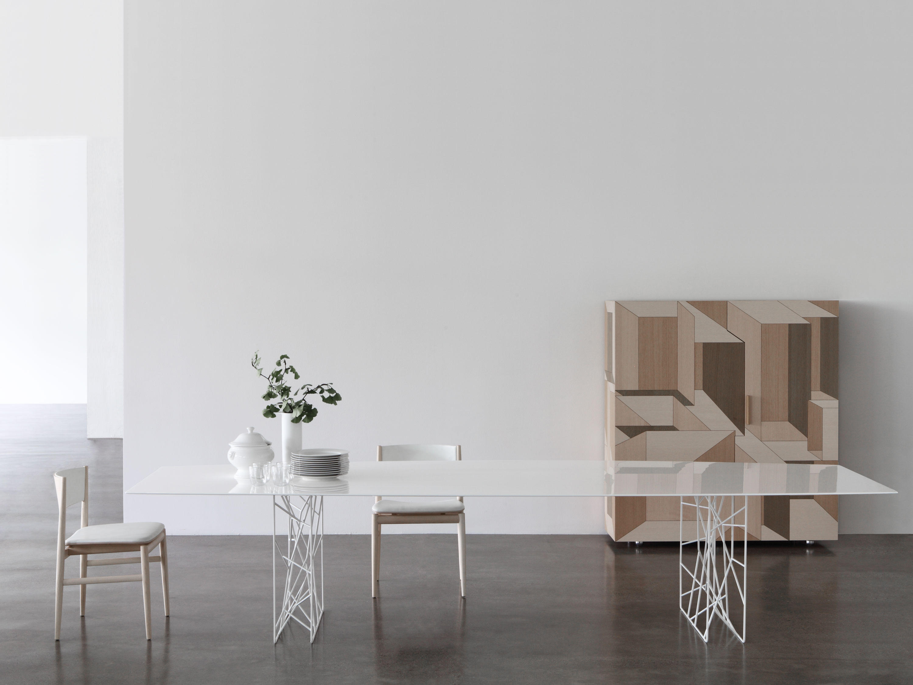 Synapsis Table Dining Tables From Porro Architonic