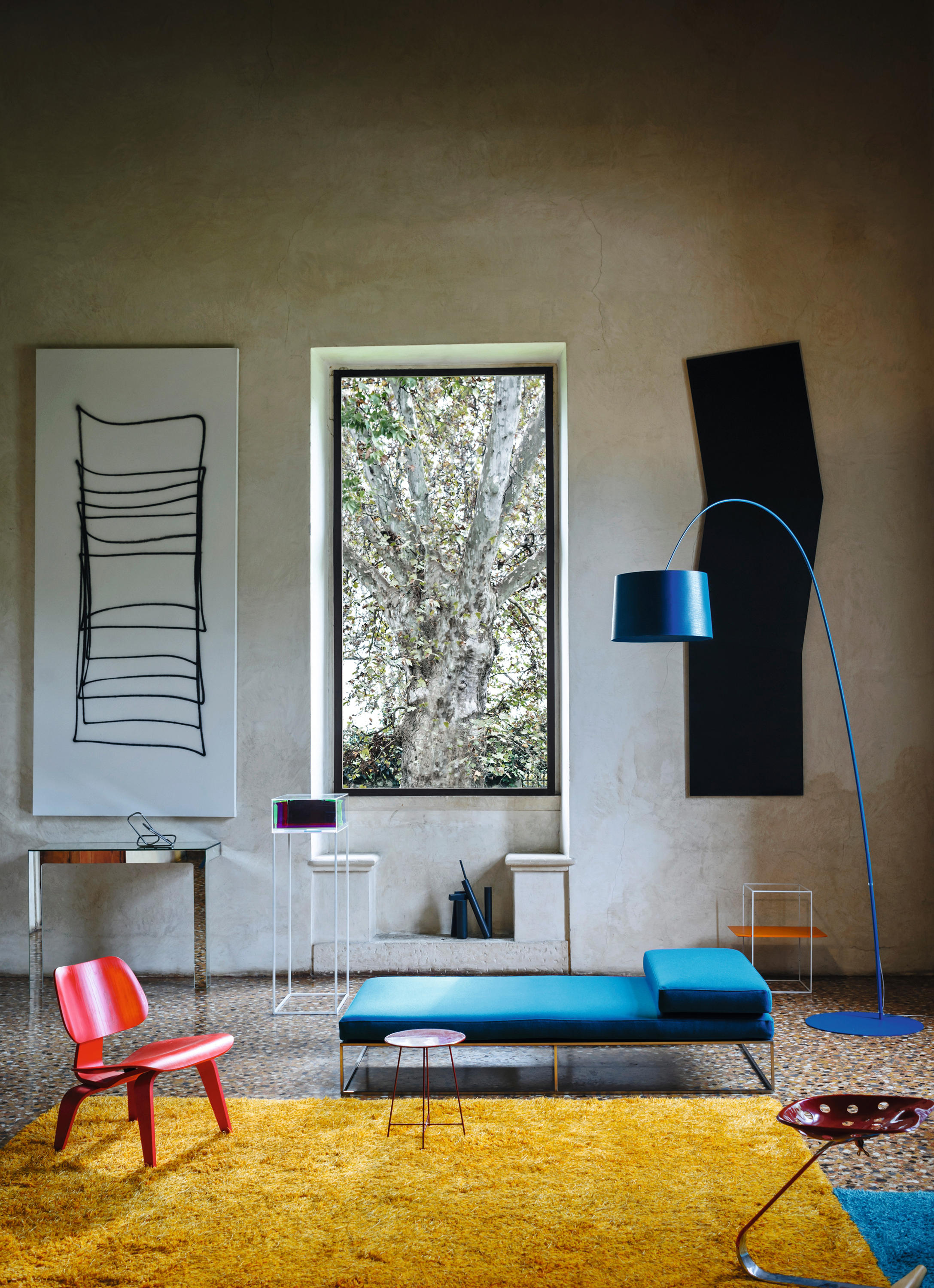 Twiggy Floor Free Standing Lights From Foscarini