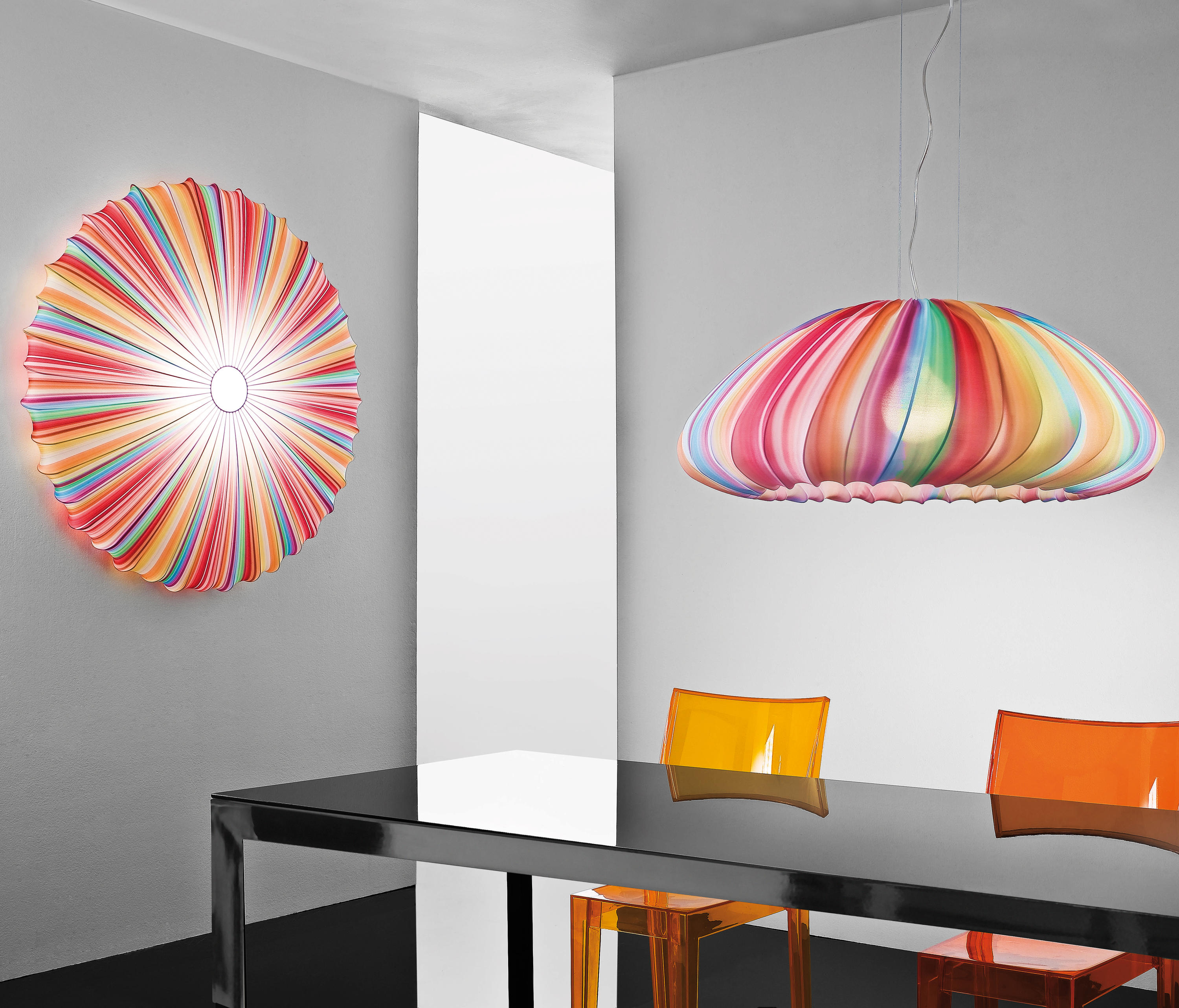 Funky Wall Lights >> Muse Pl 40 Wall Lights From Axolight Architonic