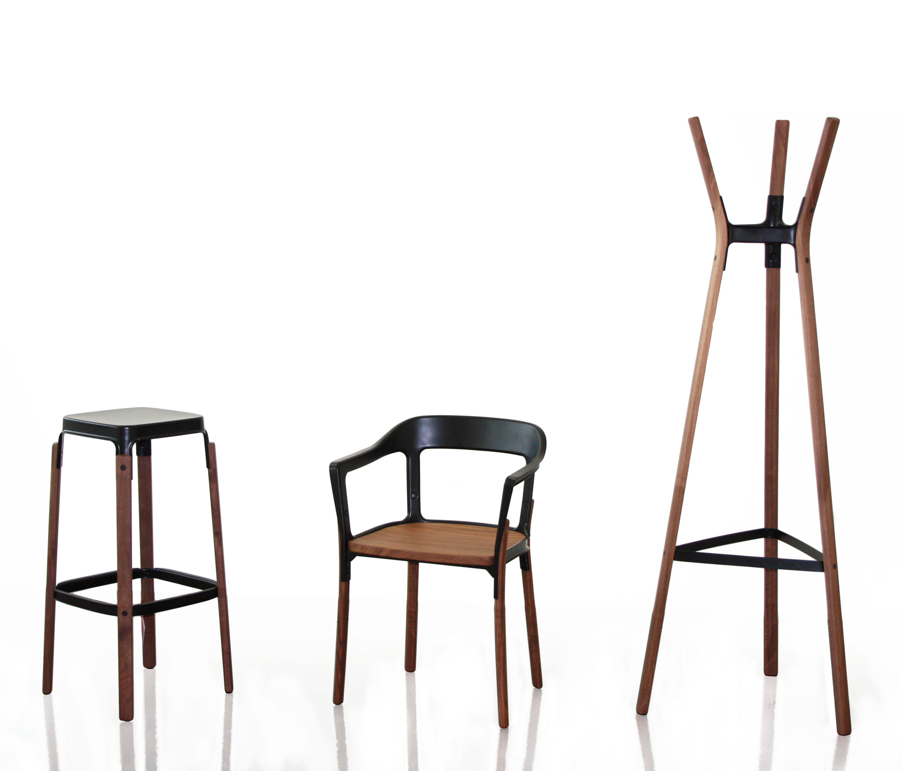 Steelwood chair visitors chairs side chairs from magis for Magis stuhl