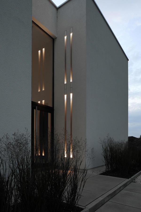 Wood Facade Lighting