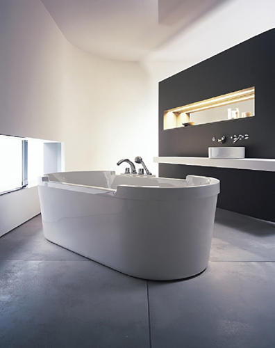 starck badewanne einbau von duravit architonic. Black Bedroom Furniture Sets. Home Design Ideas