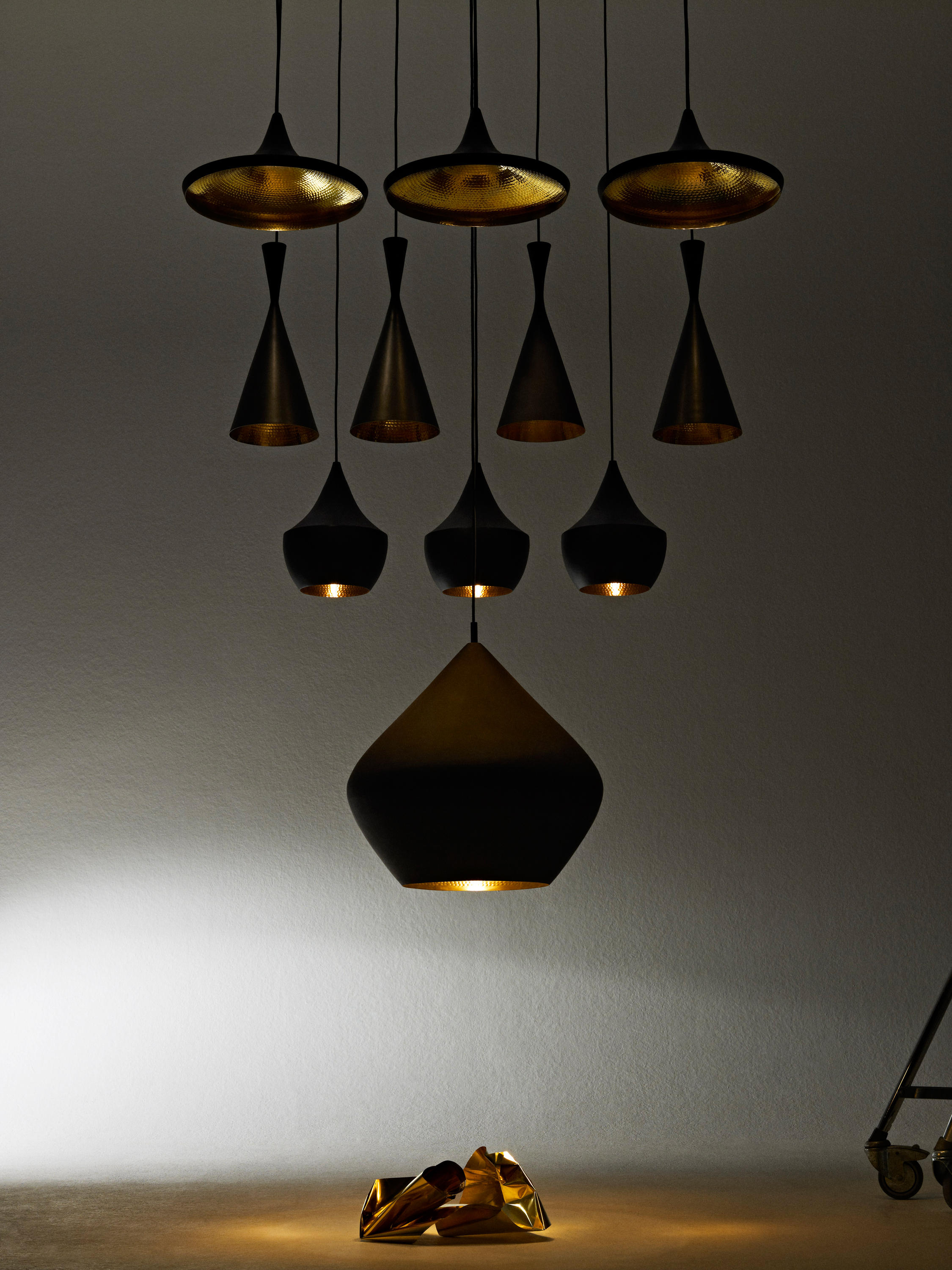Beat Table Light Brass Table Lights From Tom Dixon