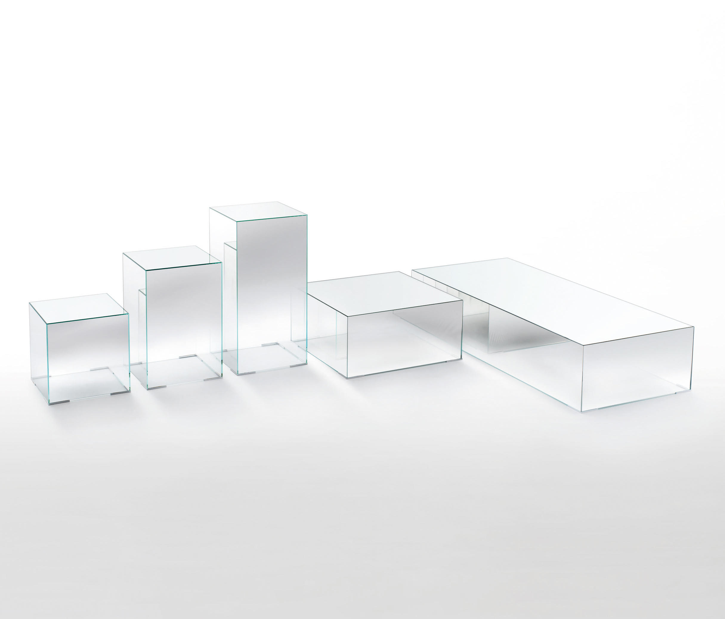 Illusion Side Tables From Glas Italia Architonic