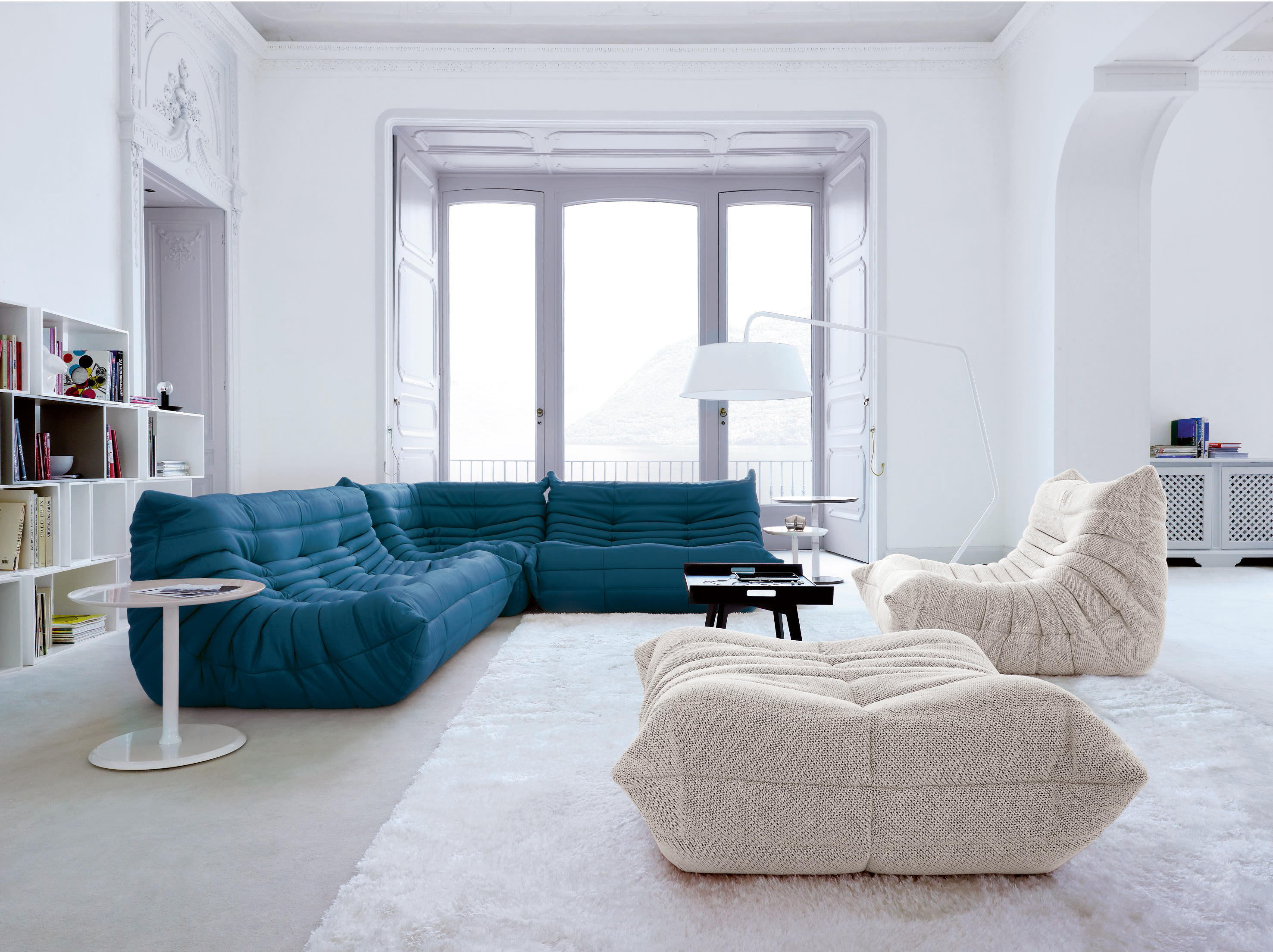 Togo Large Settee Without Arms By Ligne Roset