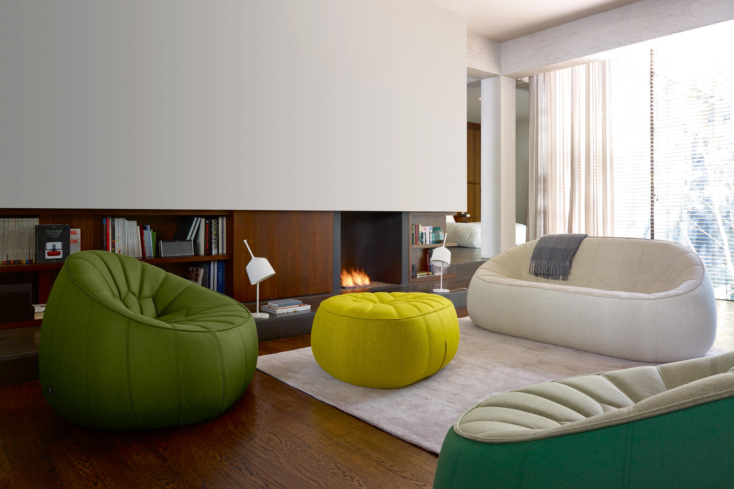 Ottoman Large Settee Complete Item Sofas From Ligne Roset - The-ottoman-from-ligne-roset