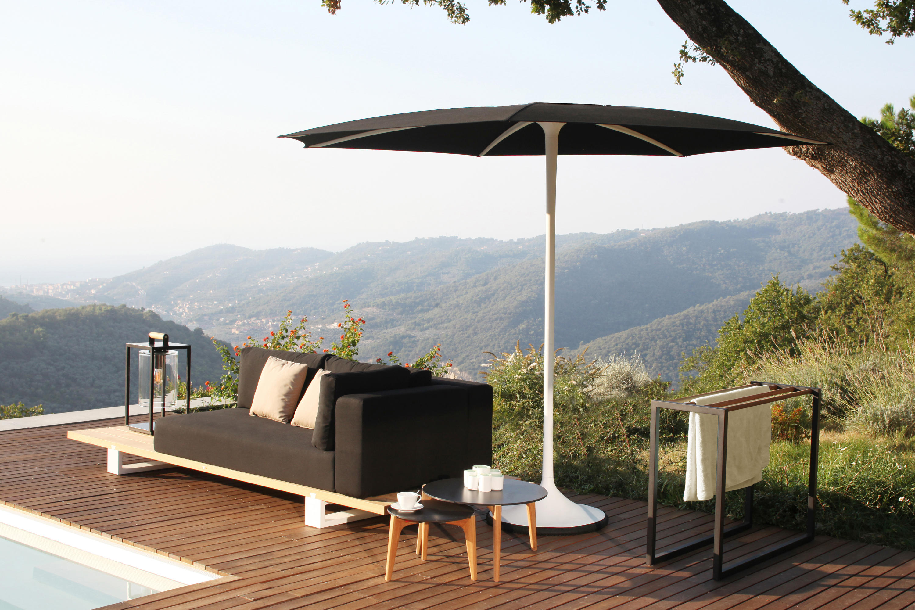 palma parasols from royal botania architonic. Black Bedroom Furniture Sets. Home Design Ideas