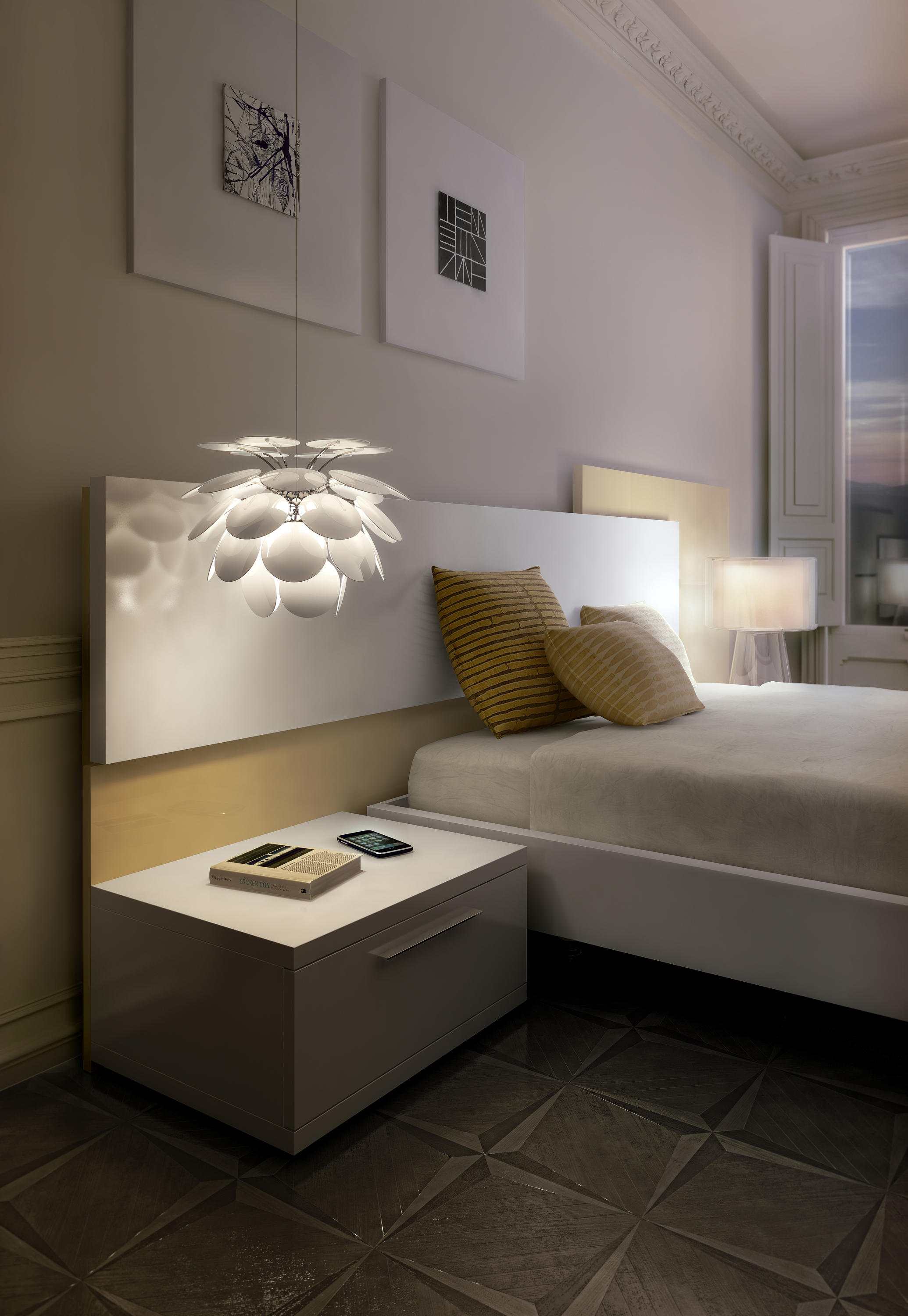 discoc 68 grey general lighting from marset architonic. Black Bedroom Furniture Sets. Home Design Ideas