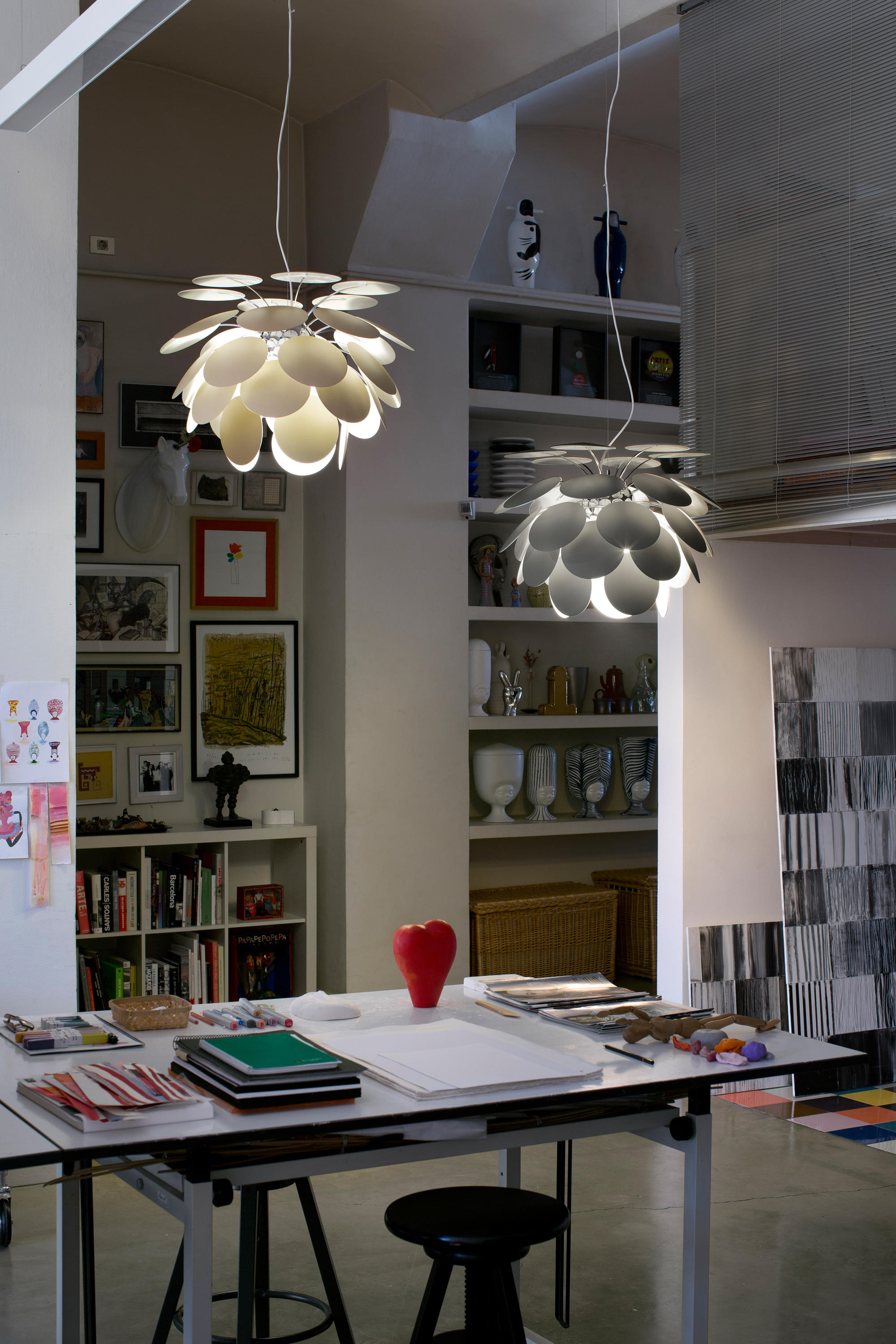 Discoco Suspended Lights From Marset Architonic
