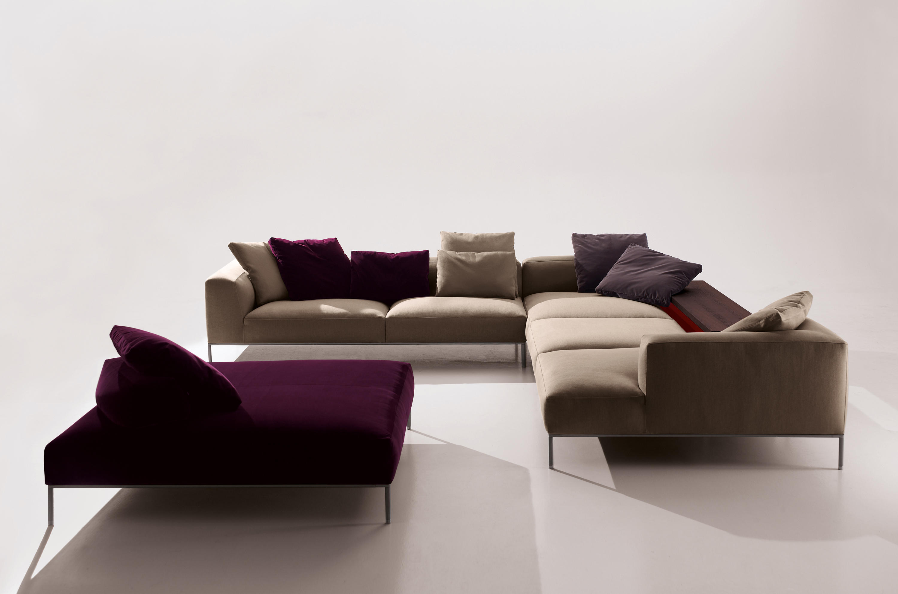 Frank sofas from b b italia architonic for B b italia novedrate