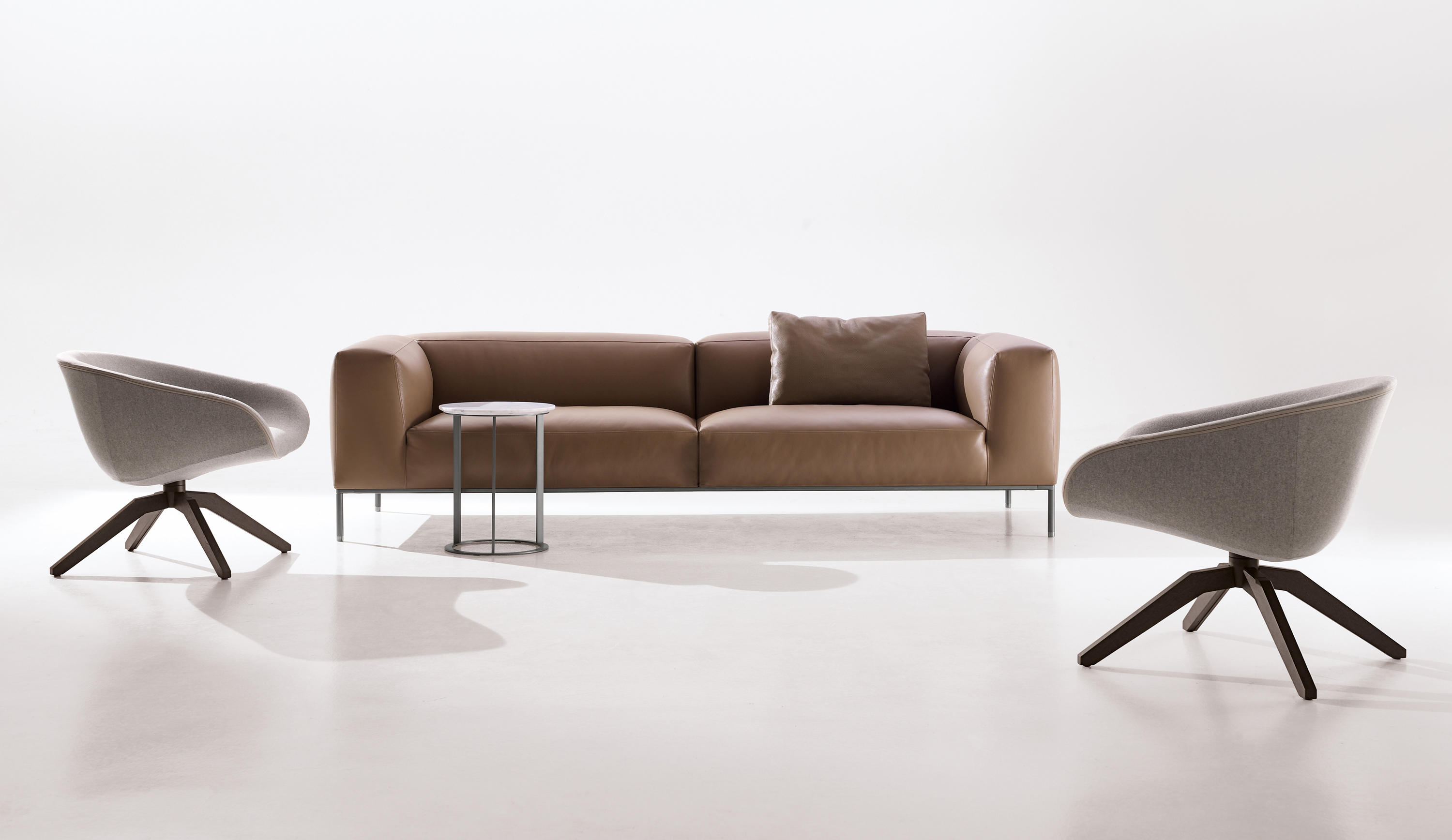 Frank sofas from b b italia architonic for B and b italia