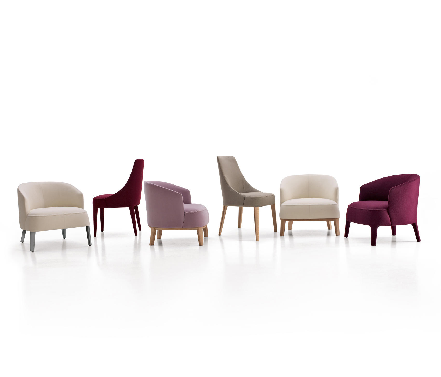 febo lounge chairs from maxalto architonic