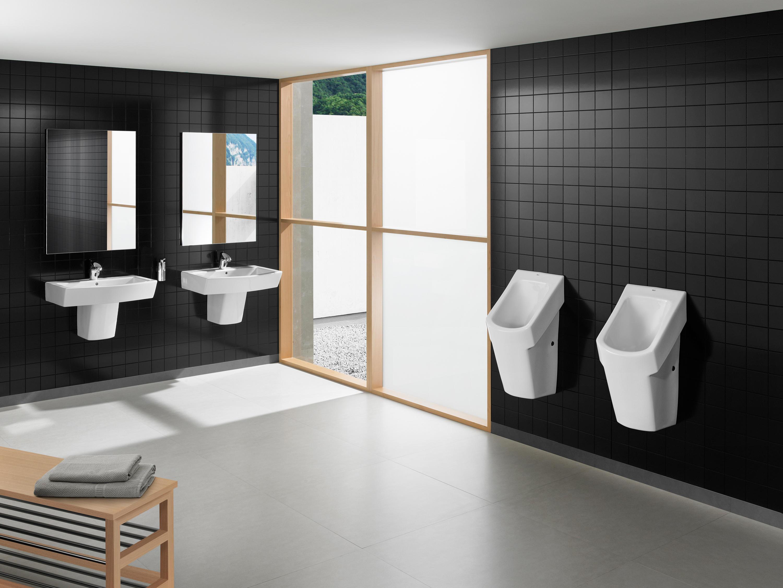 Hall urinal urinale von roca architonic for Urinario roca