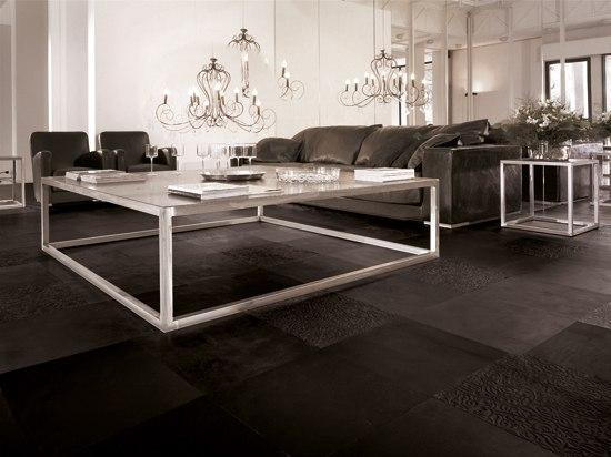 Fußboden Leder Preis ~ Lifestile nero leder fliesen von nextep leathers architonic