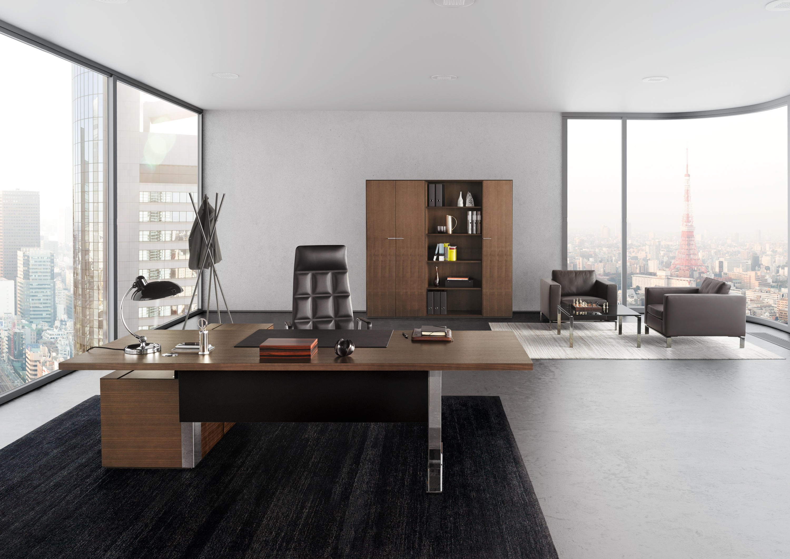 exec v table executive desks from walter knoll architonic. Black Bedroom Furniture Sets. Home Design Ideas