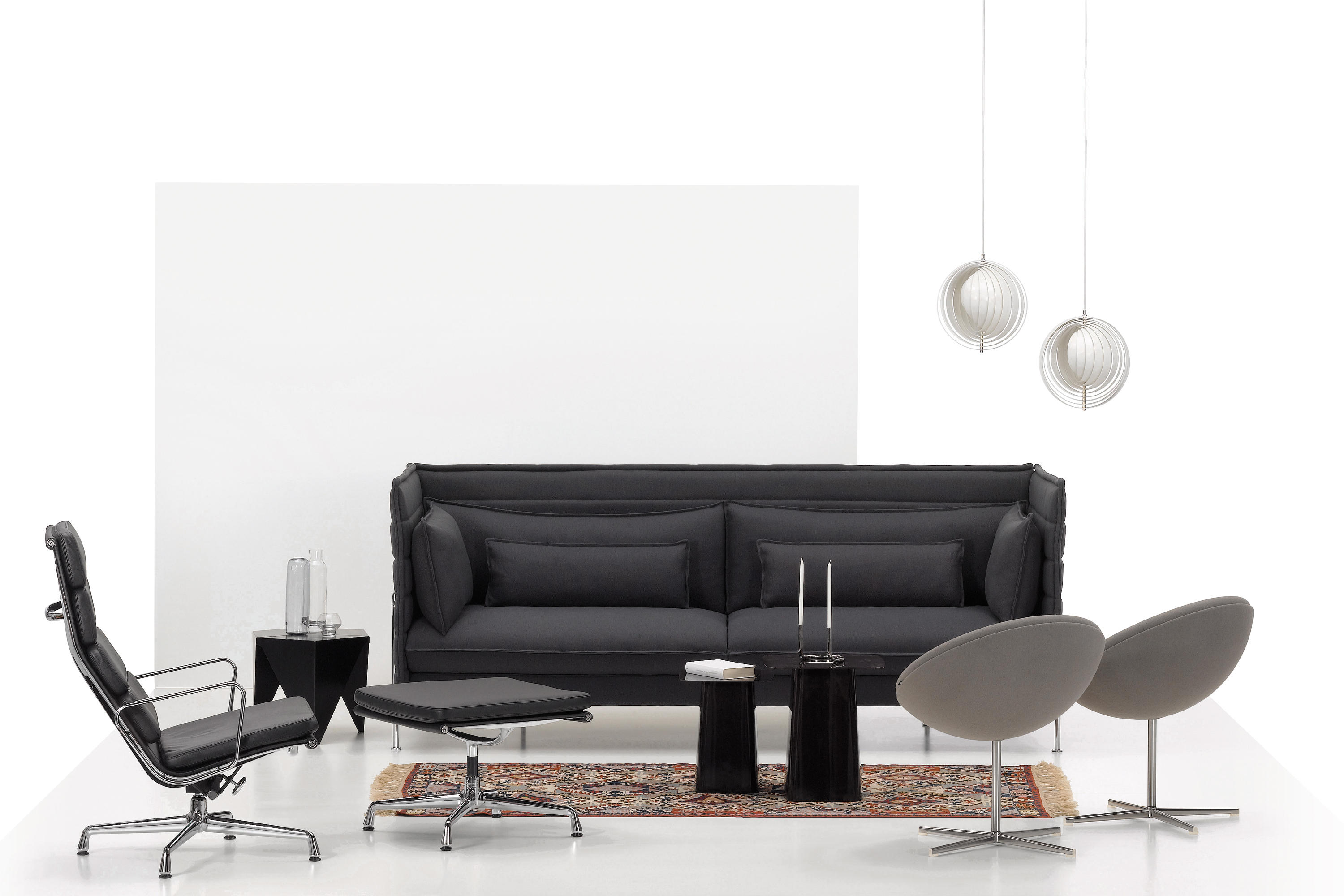 ALCOVE THREE SEATER Lounge sofas from Vitra