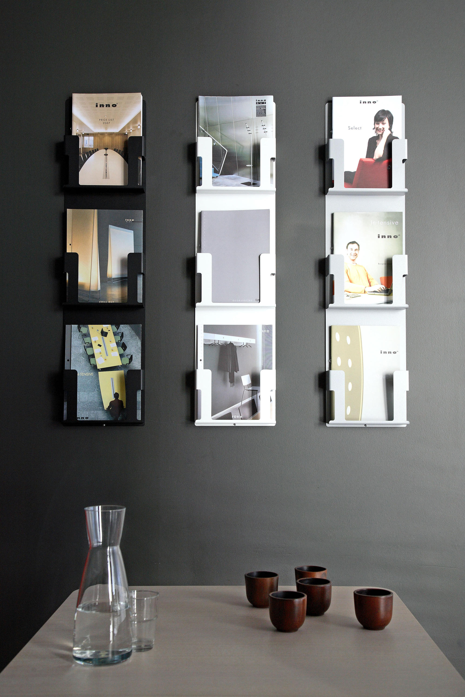 display mount floor wall brochure mounted wooden decoration of rack acrylic holders new standing