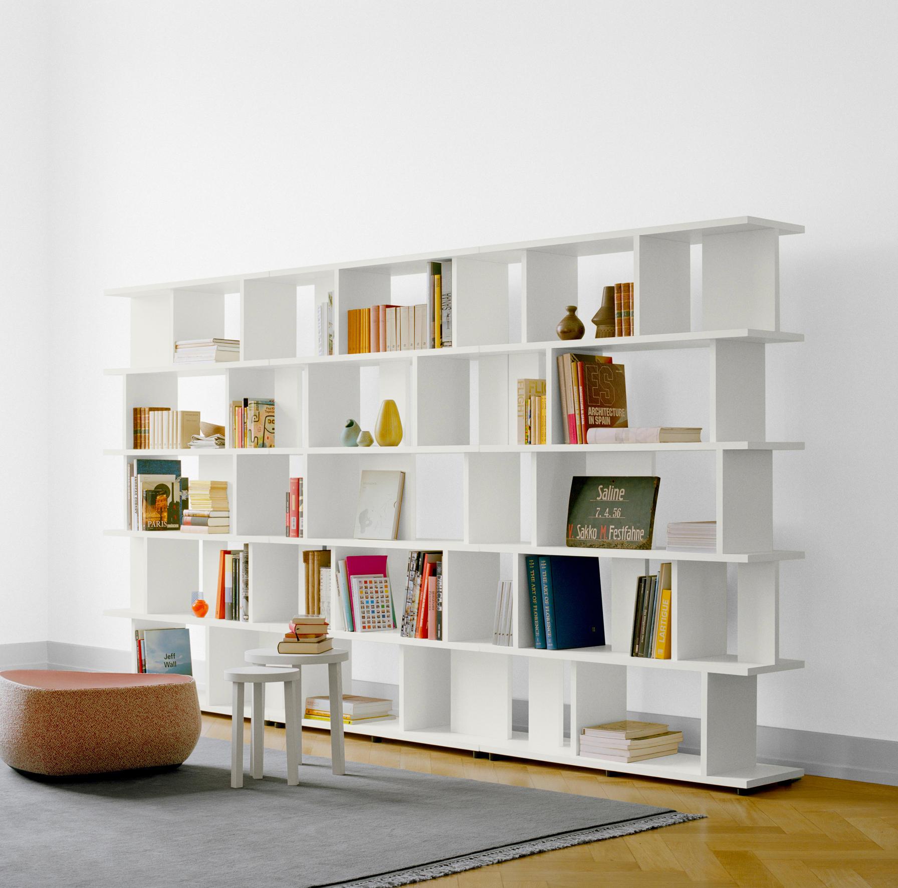 """Ибис"""" - стеллаж книжный для комнаты. выполнен из белого дсп ."""