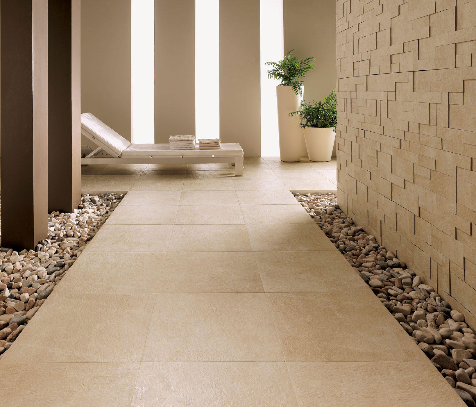 ... Arketipo Beige Floor Tile By Refin ...