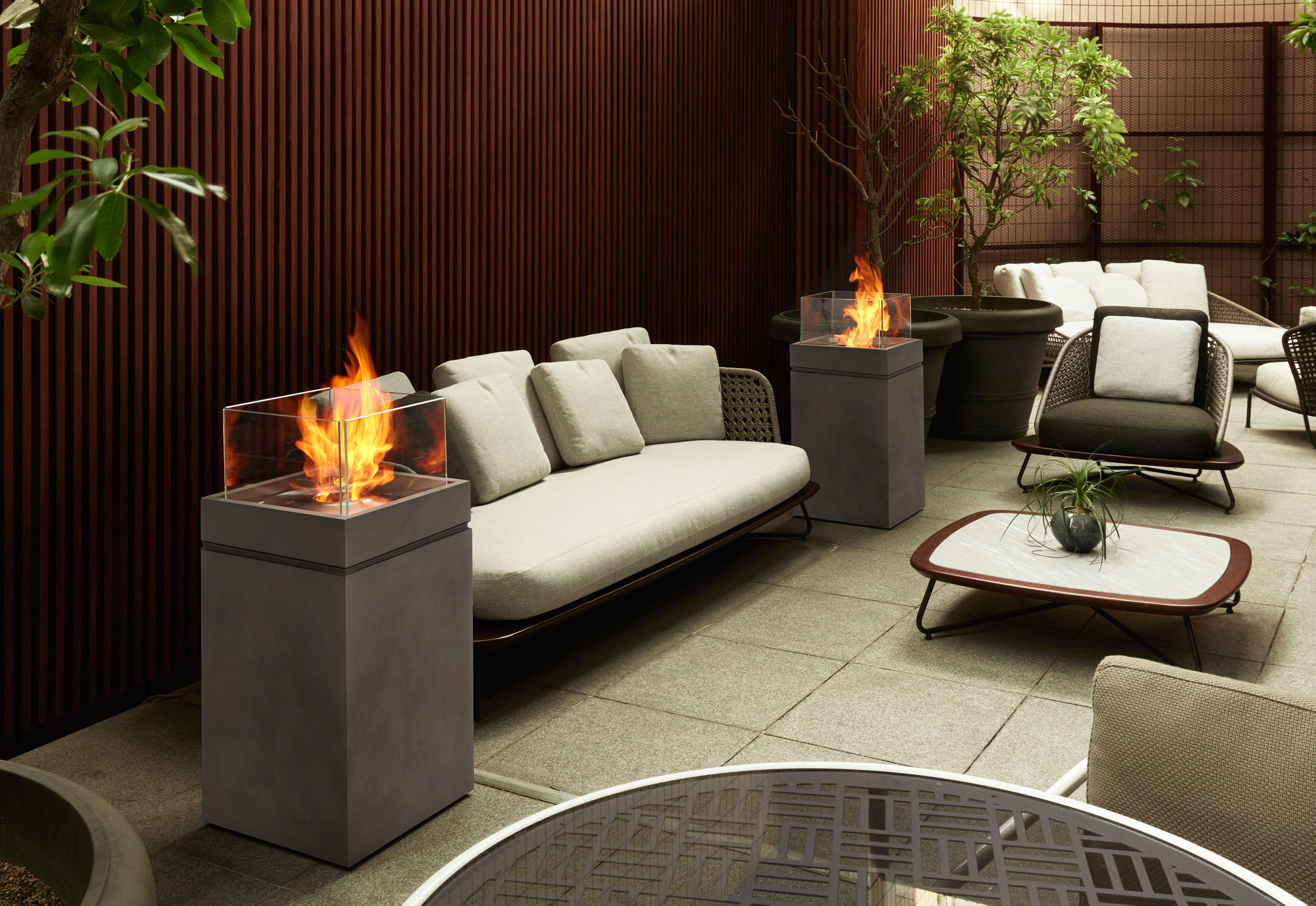 fire from en ventless fires product by architonic oxygen ecosmart br ethanol fireplace