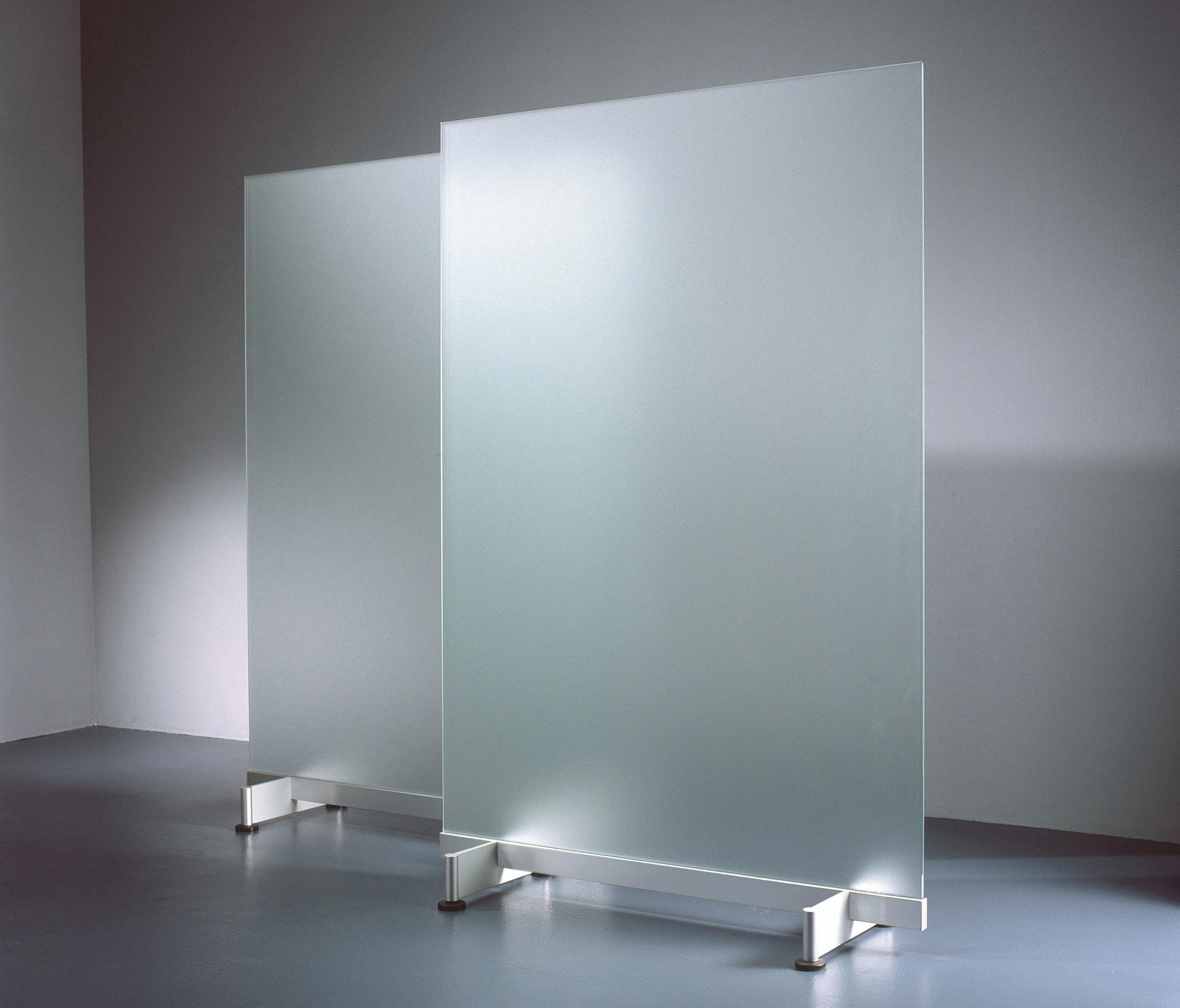 room divider in glass space dividing systems from borks