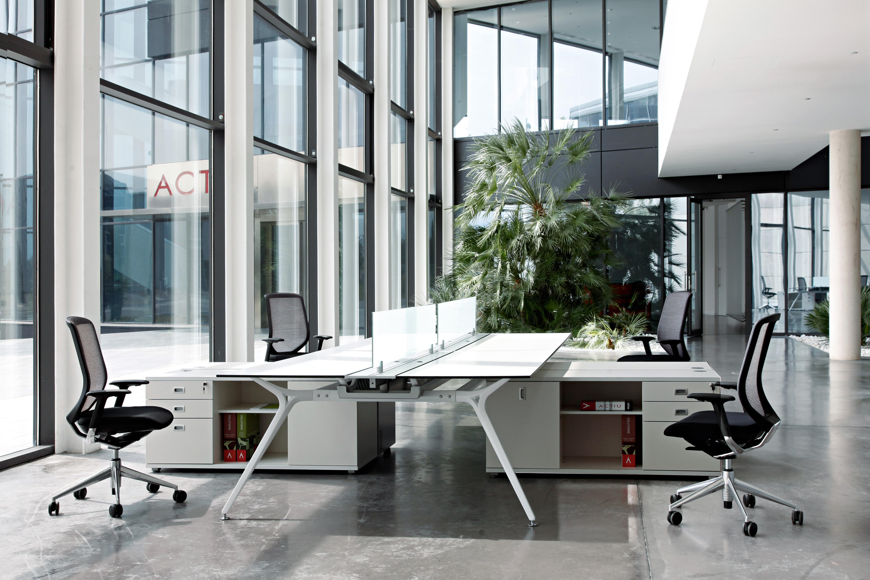 arkitek desking systems from actiu architonic