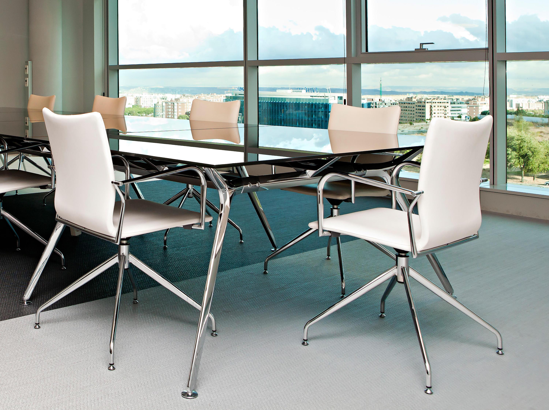 Ikara sillas de visita de actiu architonic for Sillas para visitas