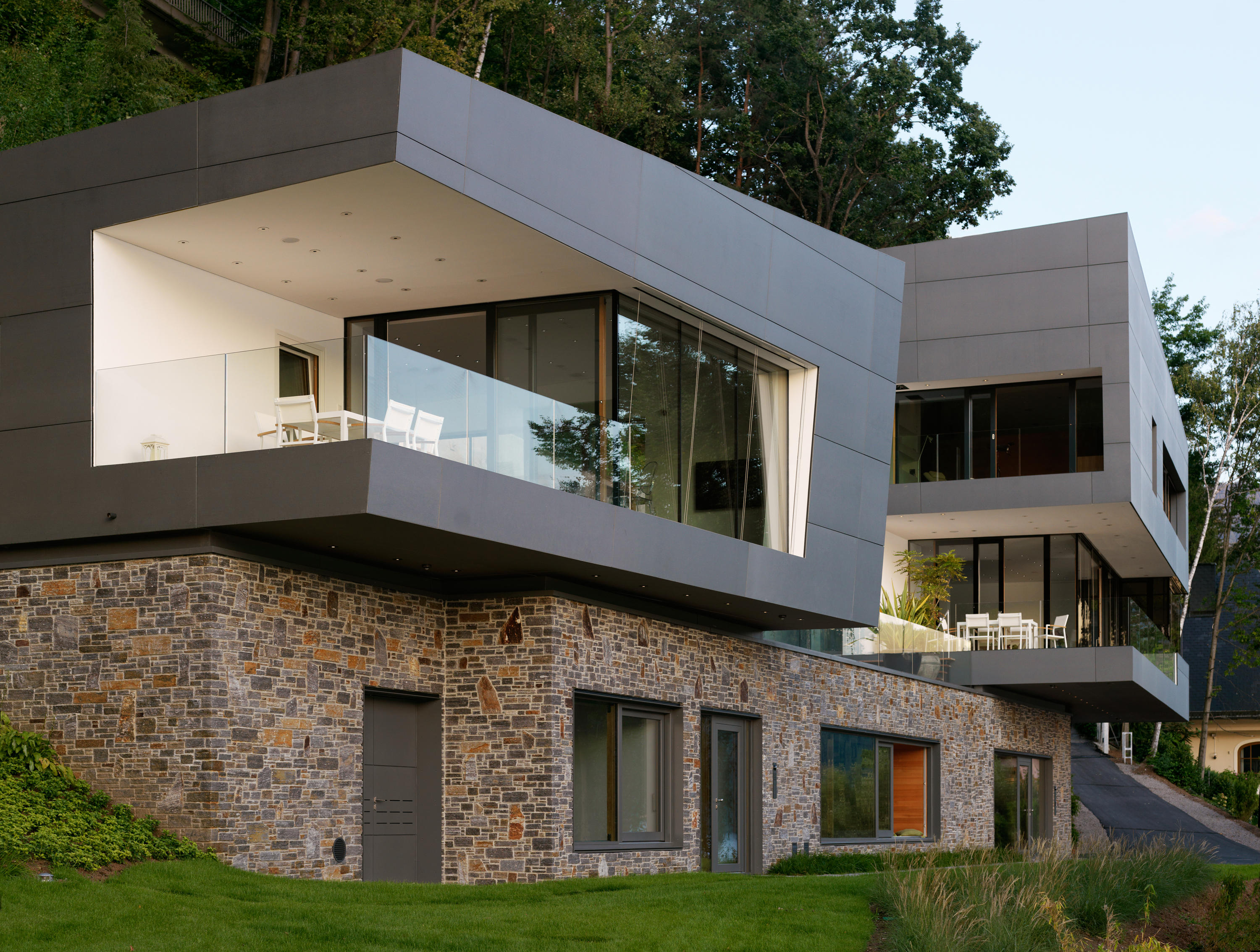 Power Station Gerlos Ii Zillertal Facade Systems From