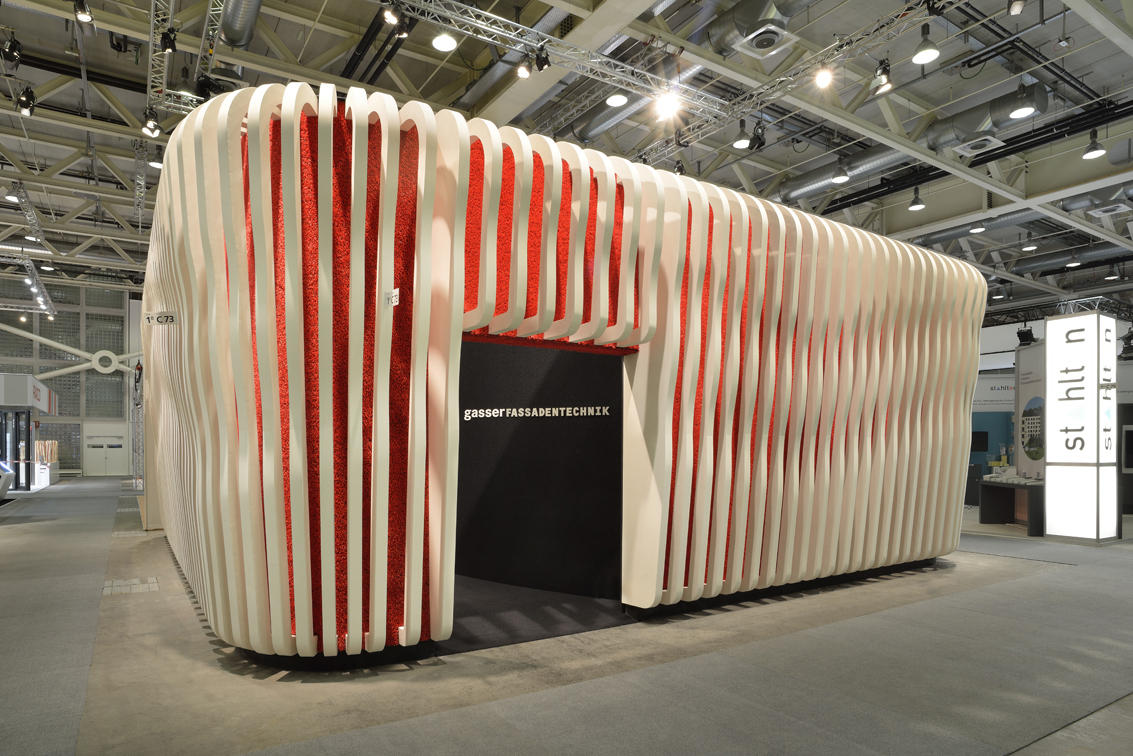 C Space Pavilion London Facade Systems From Rieder