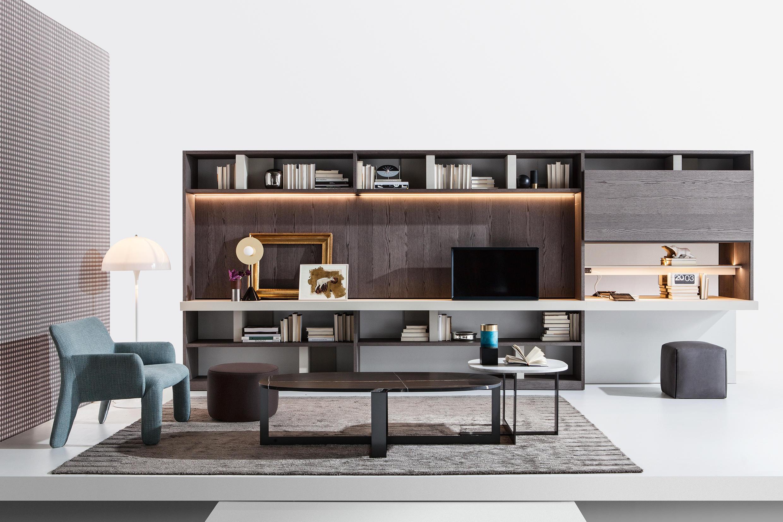 505 modular system muebles de dise o architonic for Scrivania soggiorno