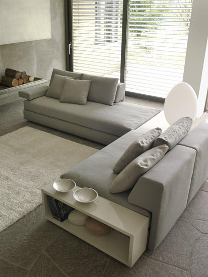 Eos divano componibile divani feg architonic for Divano componibile