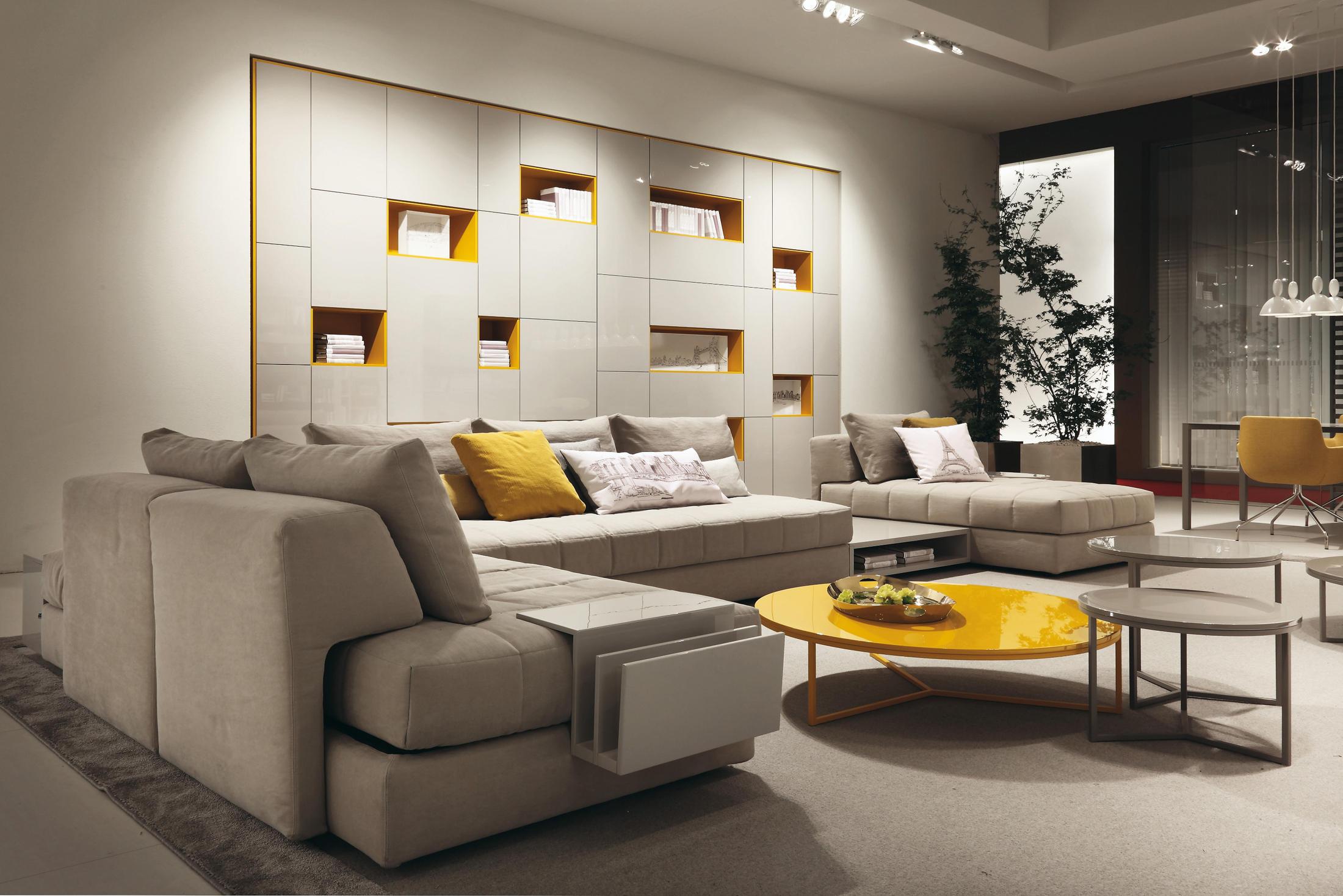 Mobili Soggiorno Feg : Eos divano componibile divani feg architonic