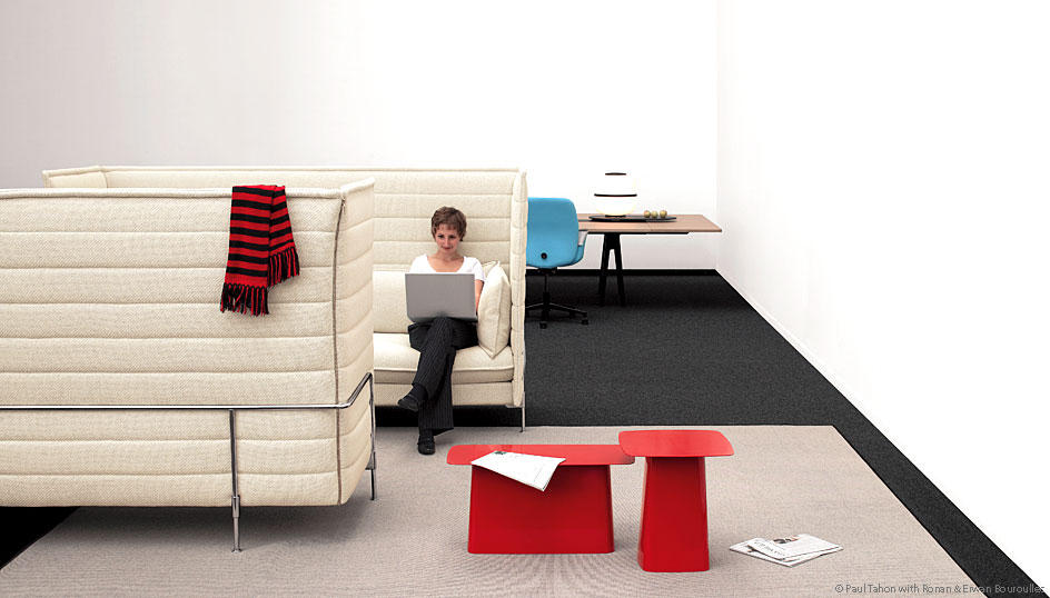 Alcove Highback Three Seater Sofas From Vitra Architonic