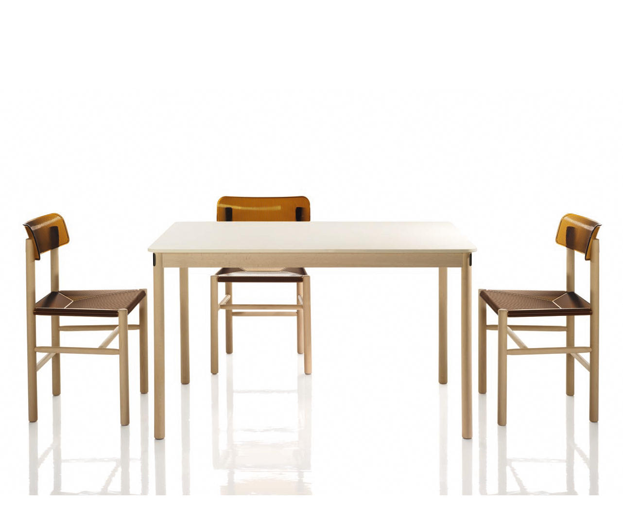 TRATTORIA TABLE - Canteen tables from Magis | Architonic