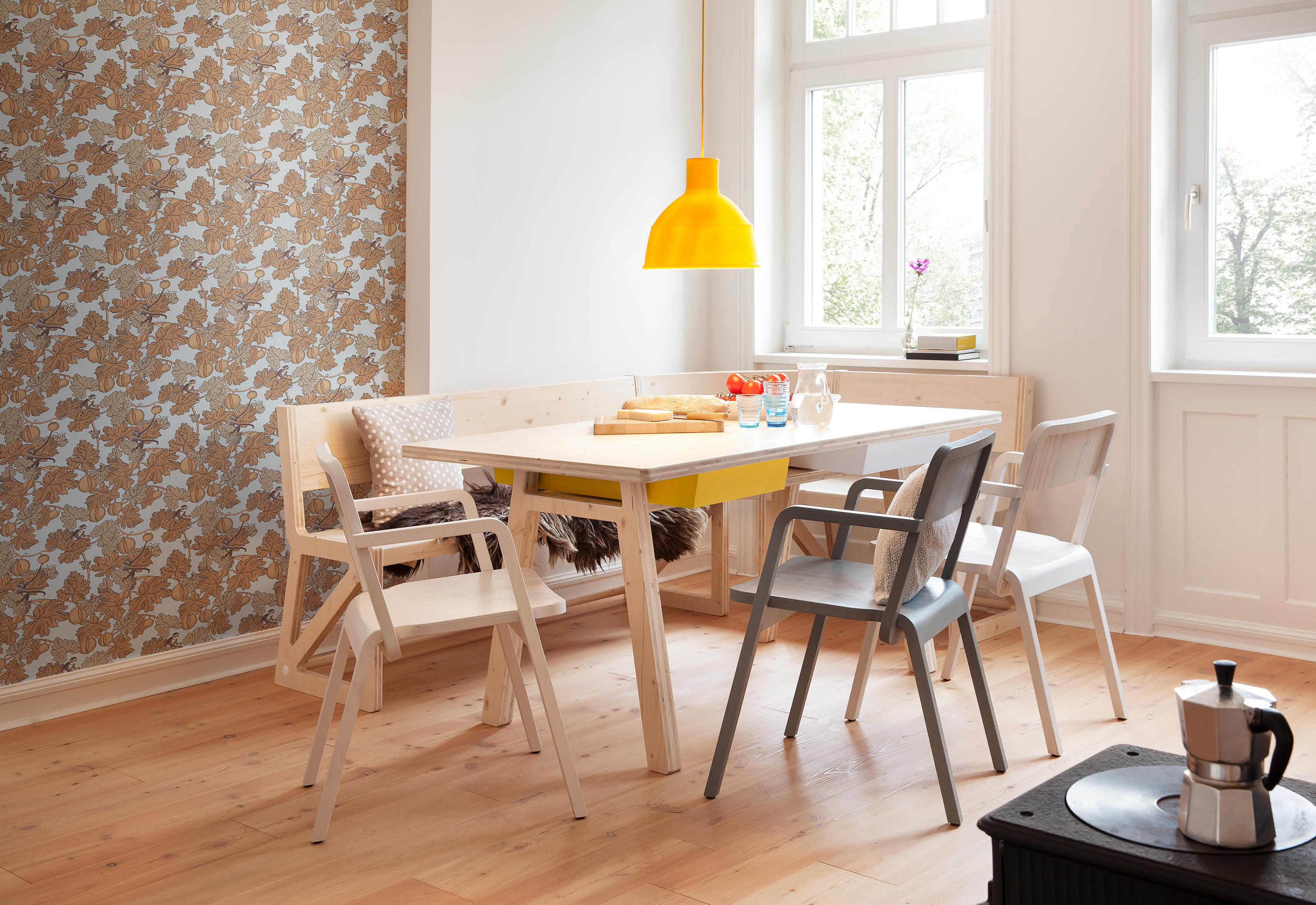 Prater Chair Chairs From Richard Lampert Architonic