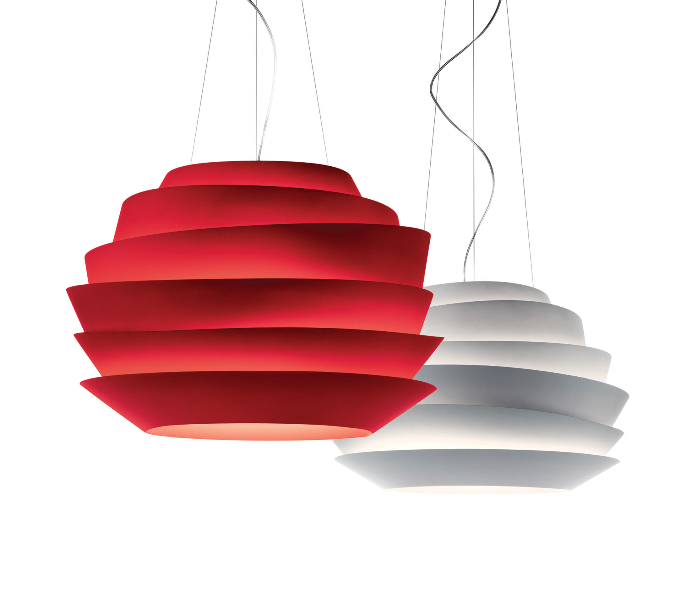Le Soleil Suspension Red Architonic