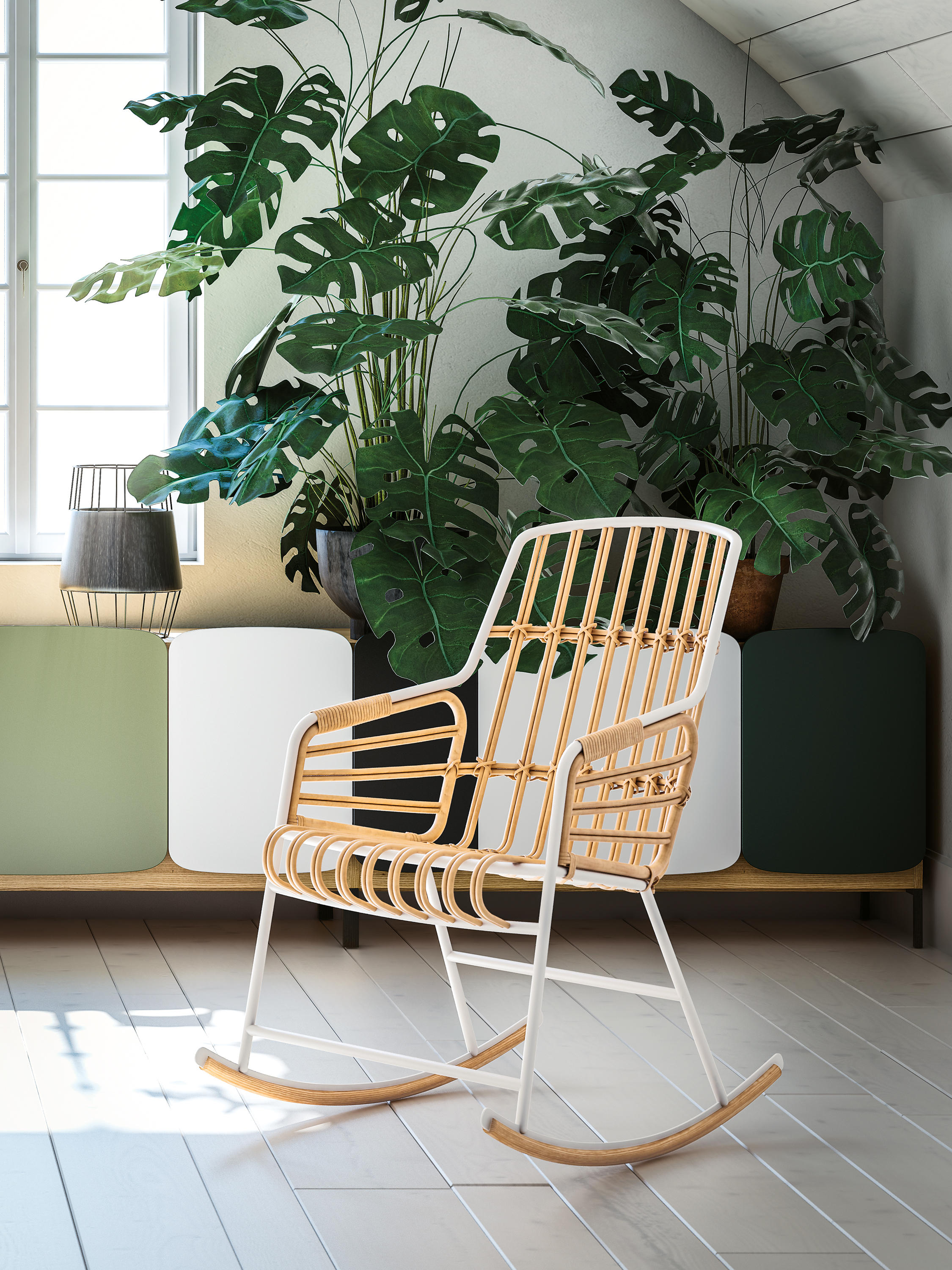Raphia Rocking rocking chair - Chairs by Casamania  Architonic