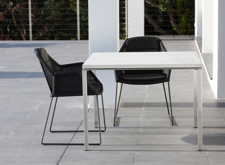 pure tisch garten esstische von cane line architonic. Black Bedroom Furniture Sets. Home Design Ideas