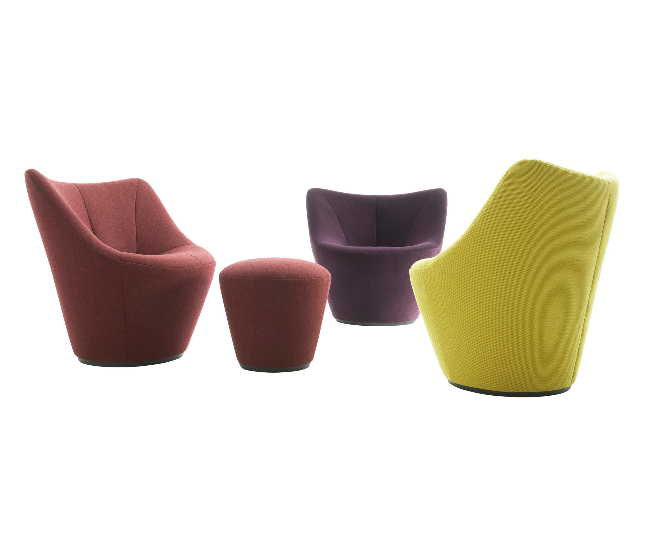 anda lounge chairs from ligne roset architonic. Black Bedroom Furniture Sets. Home Design Ideas