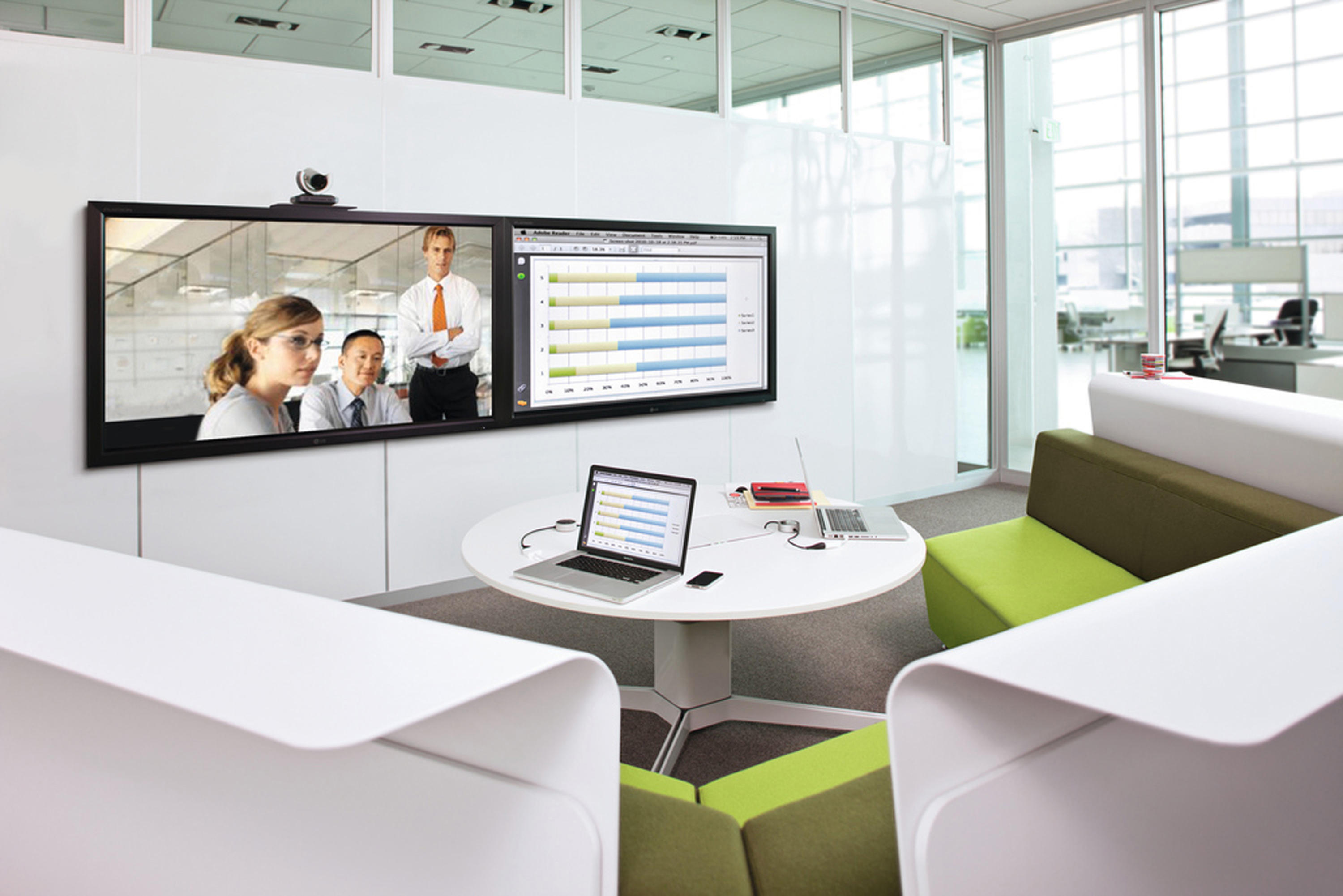 mediascape  av wall unites from steelcase  architonic -  mediascape by steelcase
