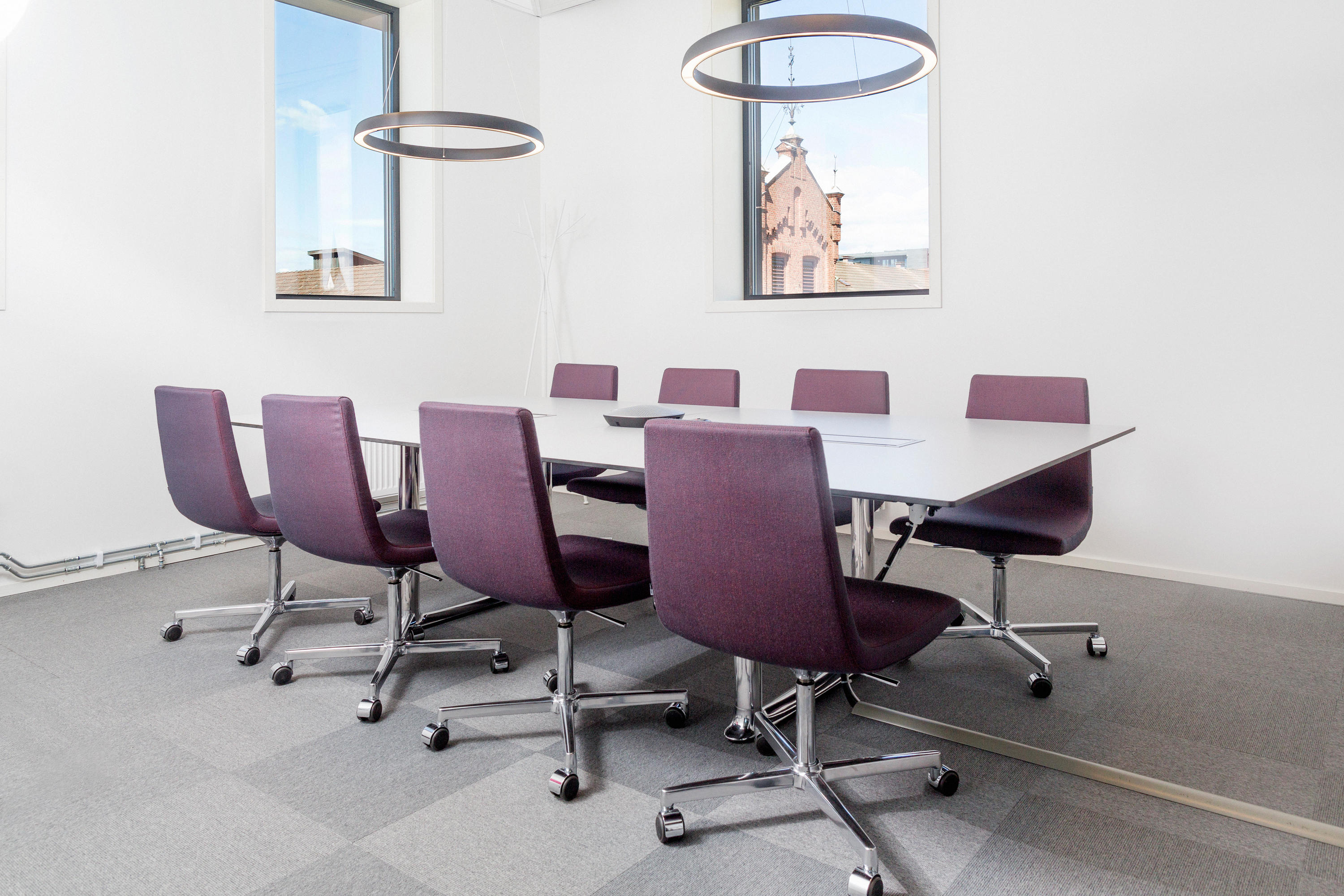 CLINT STACKABLE Visitors chairs Side chairs from Fora Form